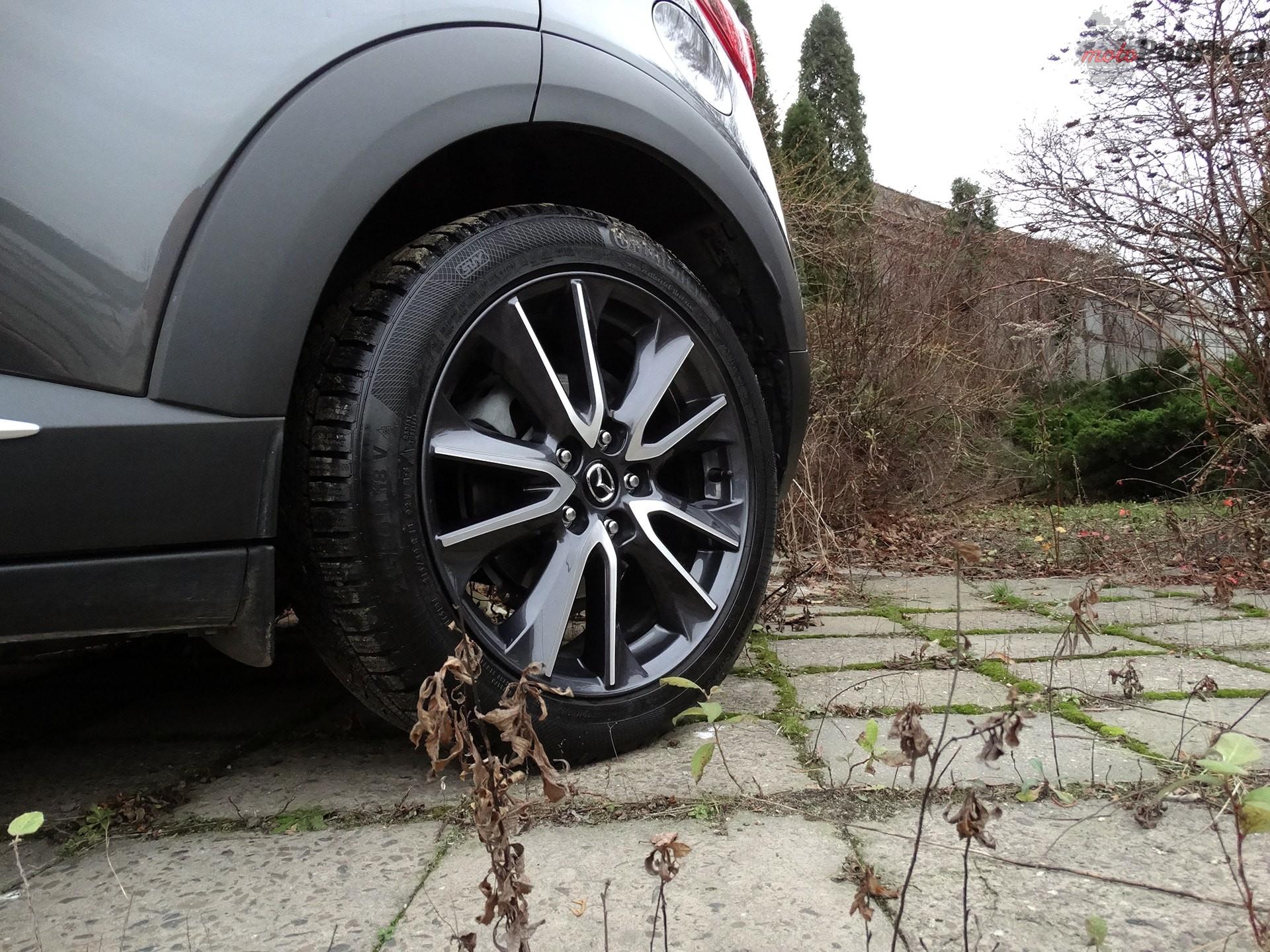 mazda cx 3 6 Test: Mazda CX 3 2.0 150 KM 4x4   na przekór modzie