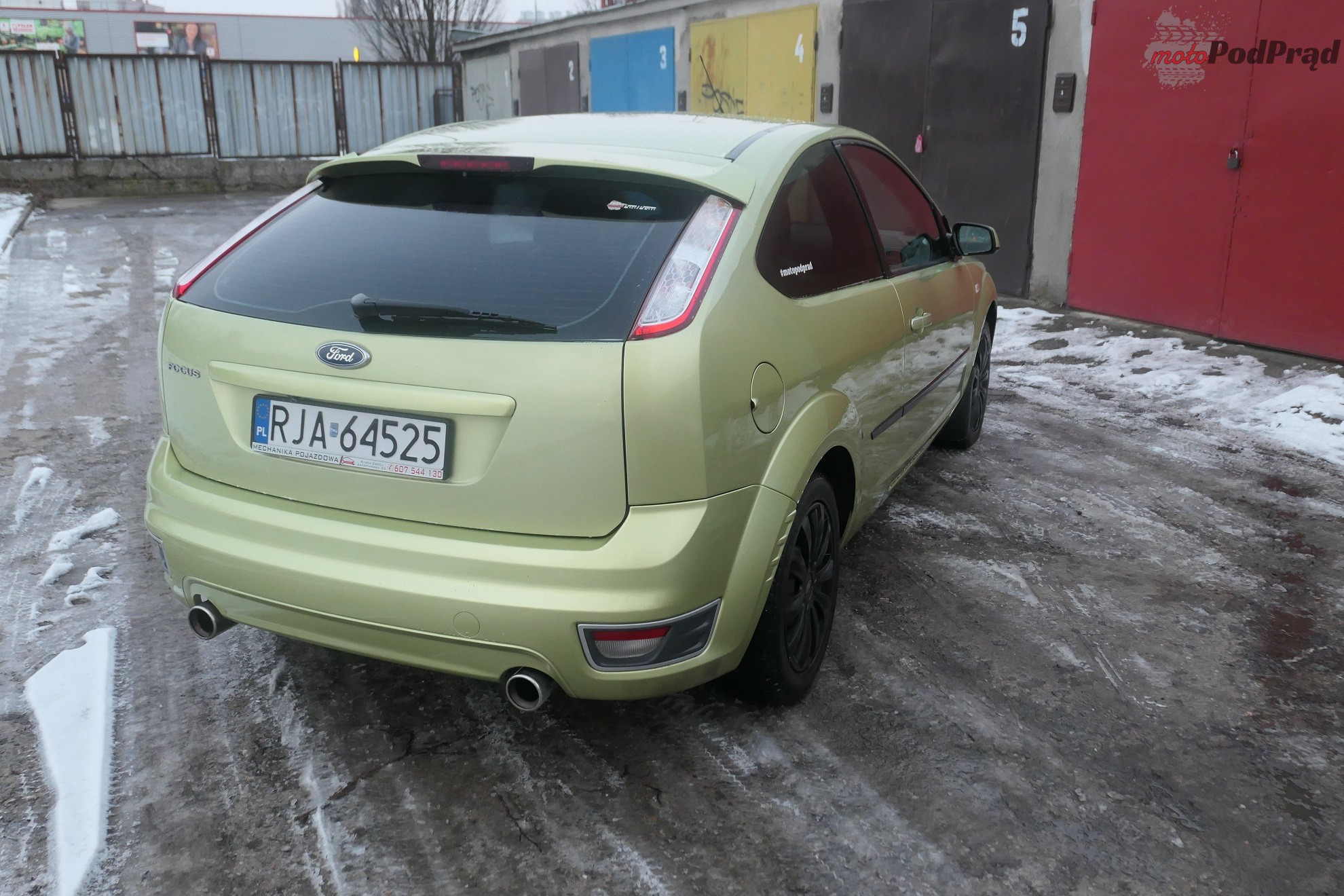 Ford Focus 11 Test: Ford Focus Mk2 2.0 145 KM   jak limonka