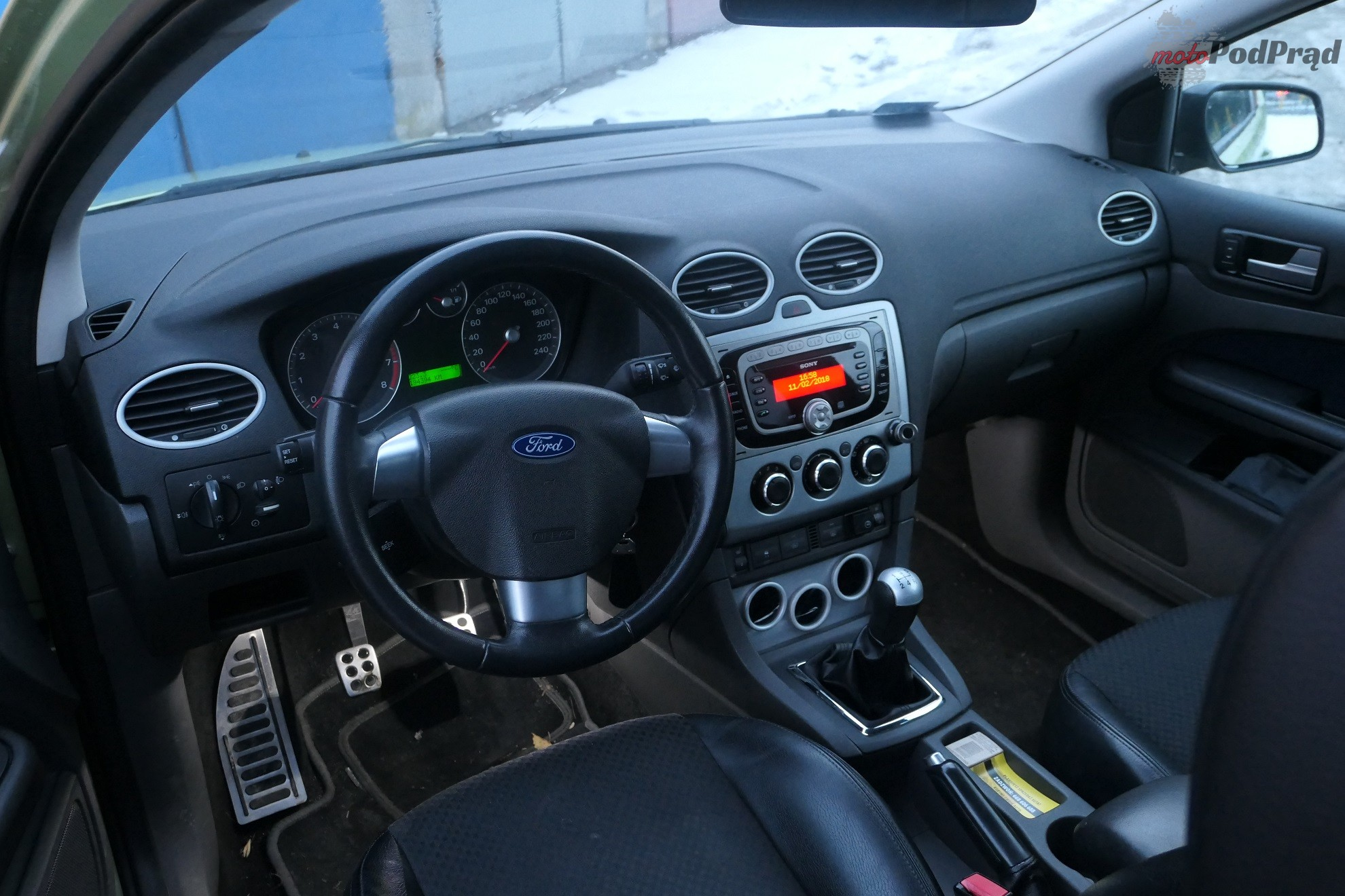 Ford Focus 18 Test: Ford Focus Mk2 2.0 145 KM   jak limonka