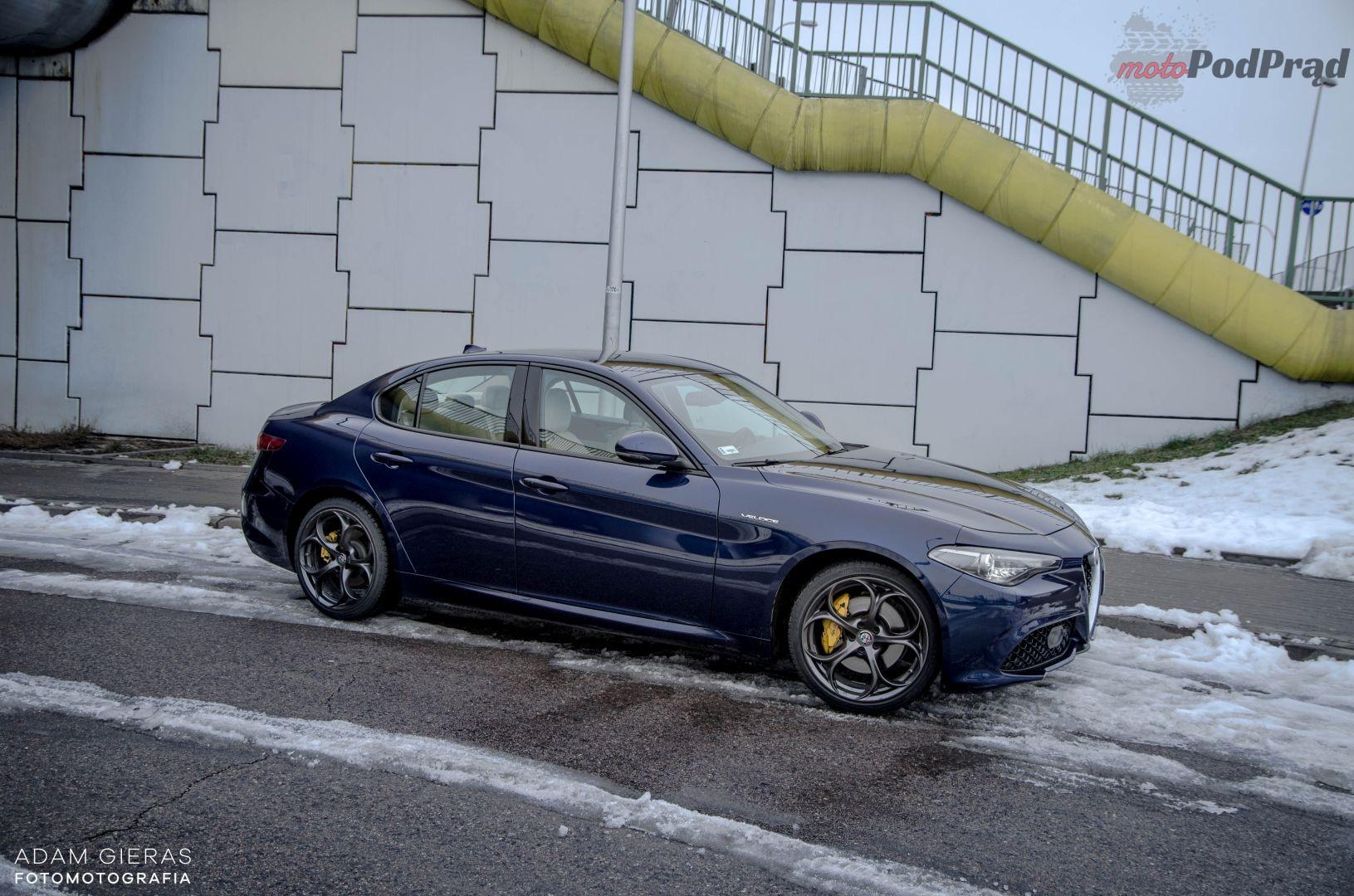 Giulia Veloce 20 Test: Alfa Romeo Giulia Veloce   w sam raz?