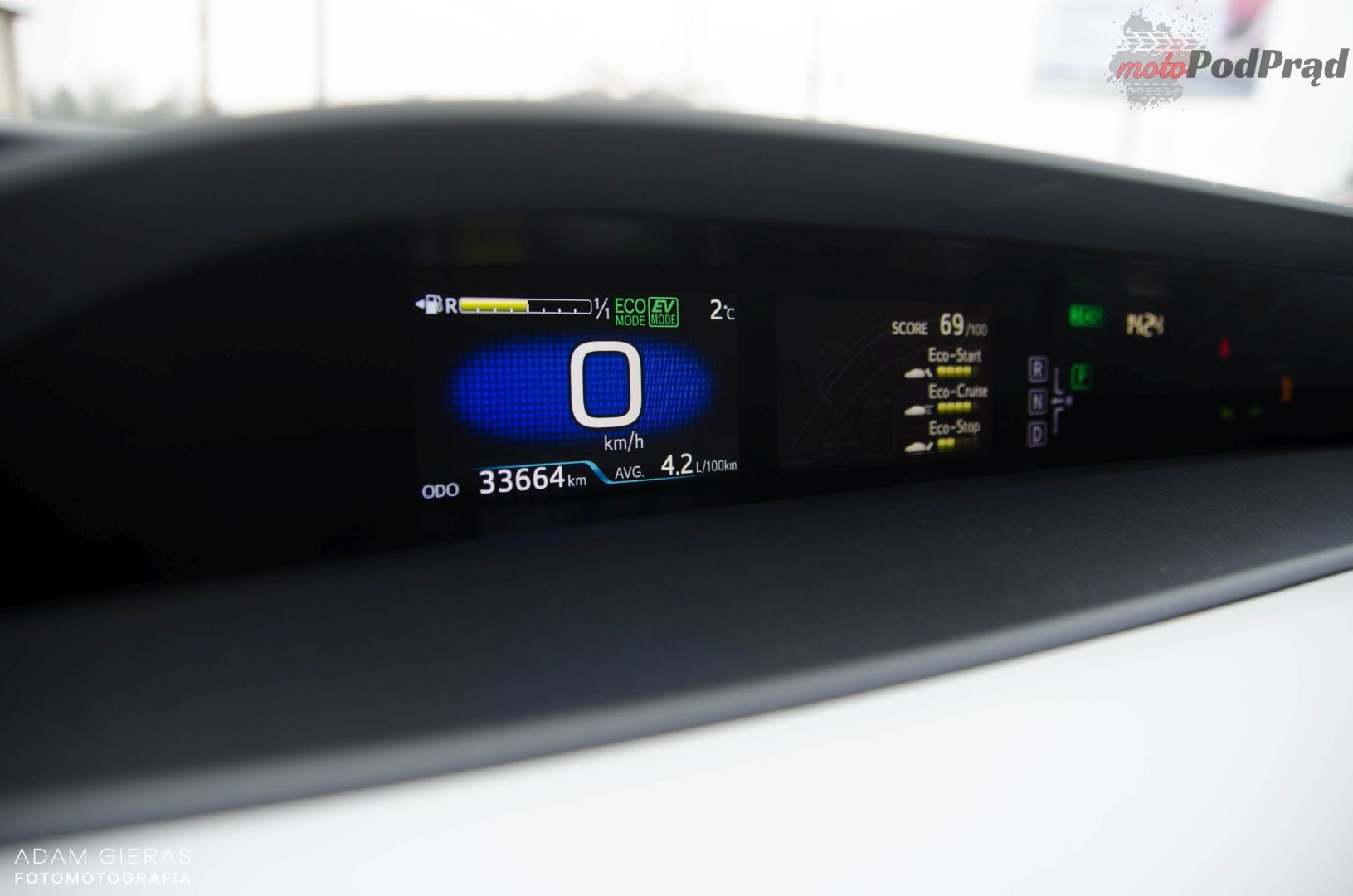 Prius 14 Test: Toyota Prius Prestige   bez wtyczki, ale za to na pełnym wypasie!