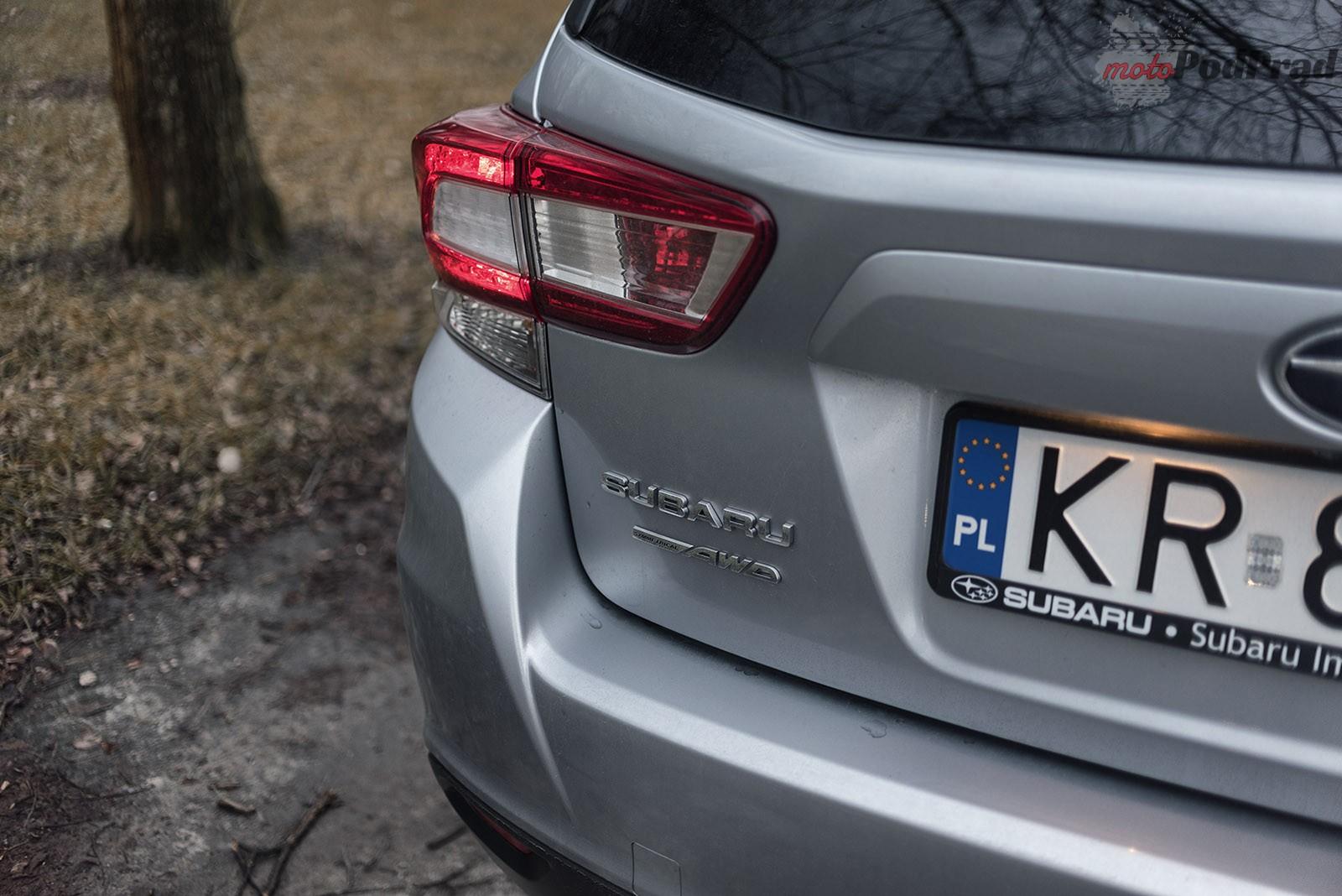 Subaru Impreza 22 Test: Subaru Impreza 2.0 AWD 156 KM   w dobrą stronę