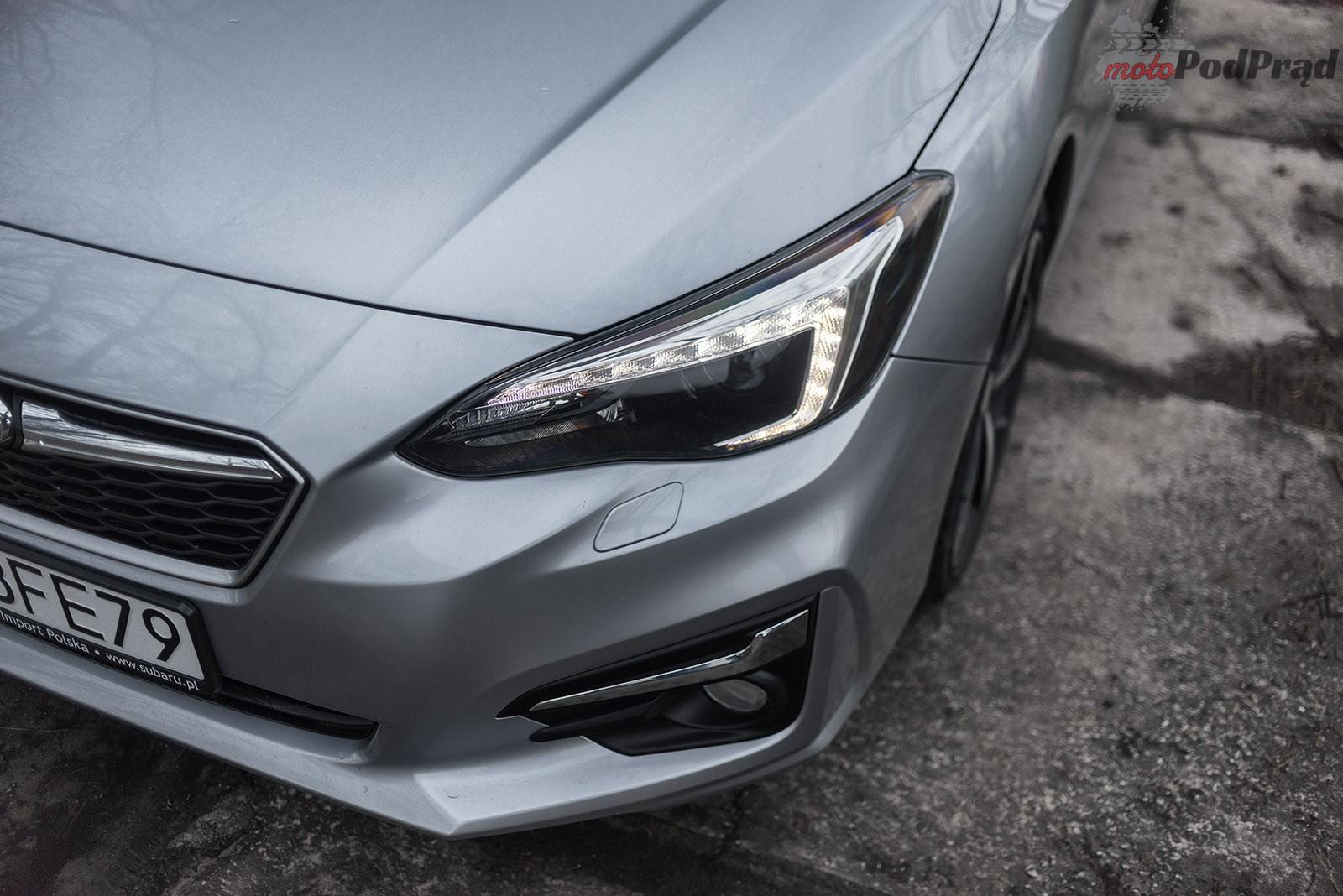 Subaru Impreza 30 Test: Subaru Impreza 2.0 AWD 156 KM   w dobrą stronę