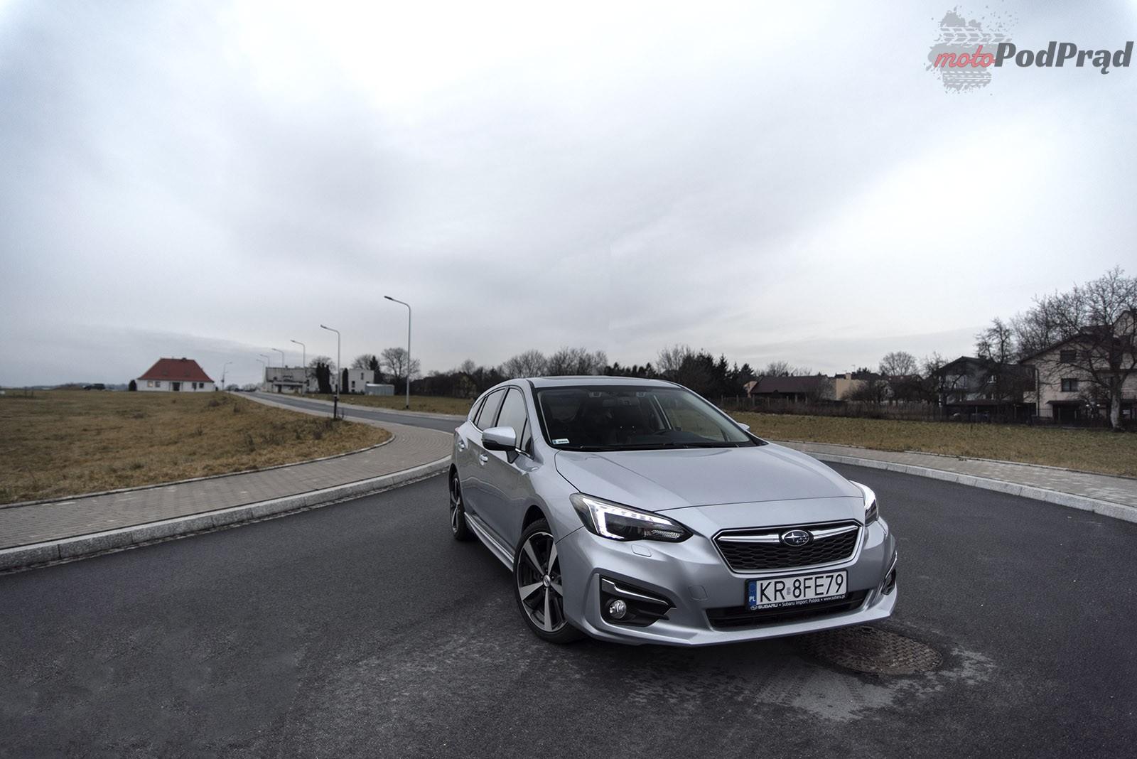 Subaru Impreza 9 Test: Subaru Impreza 2.0 AWD 156 KM   w dobrą stronę