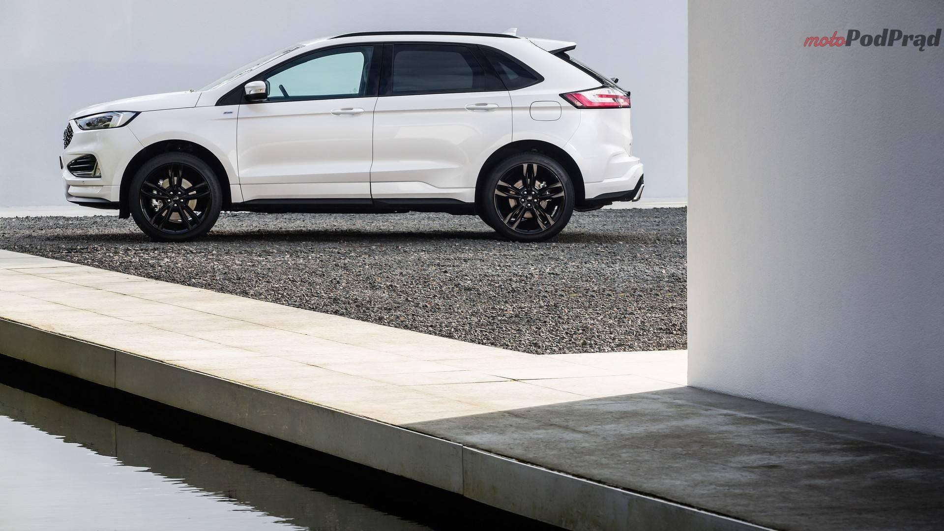 ford edge facelift euro spec 3 Ford Edge po liftingu z nowym silnikiem
