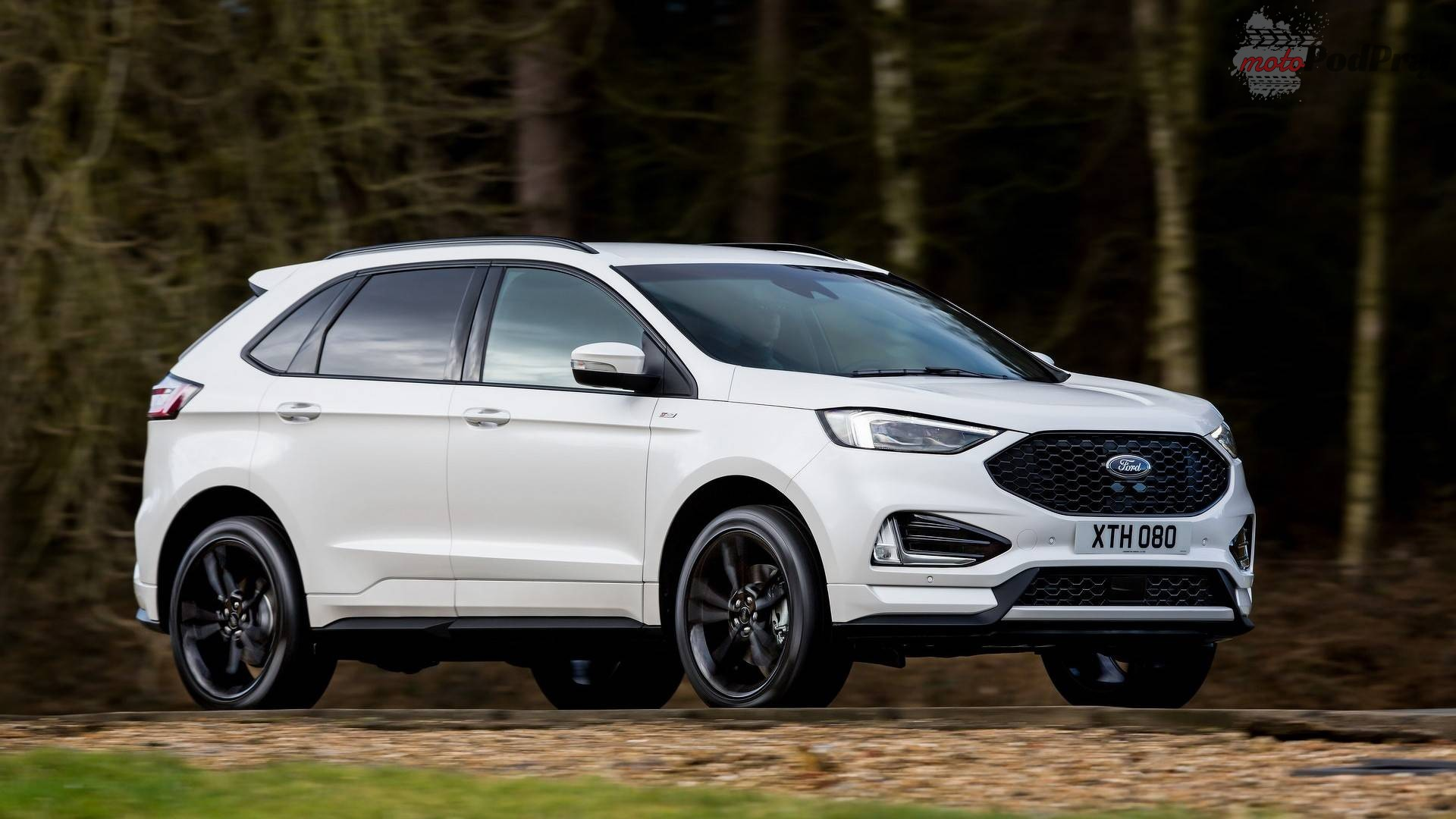 ford edge facelift euro spec 4 Ford Edge po liftingu z nowym silnikiem