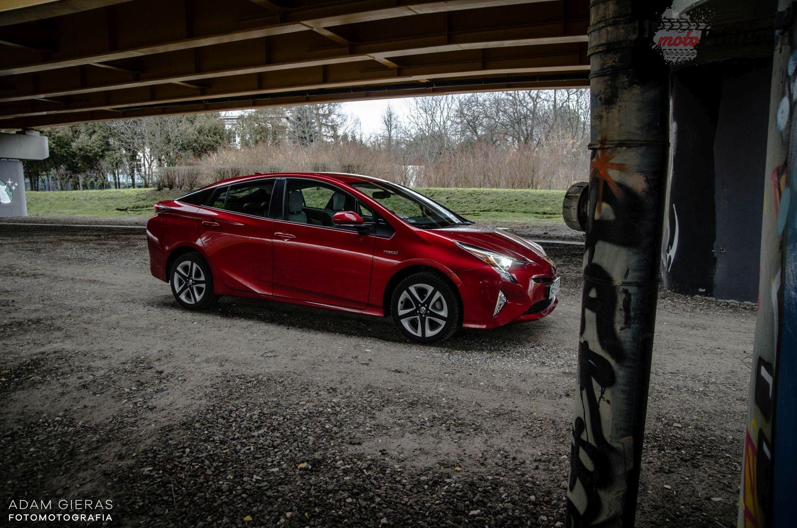 prius hybrid 7 Test: Toyota Prius Prestige   bez wtyczki, ale za to na pełnym wypasie!