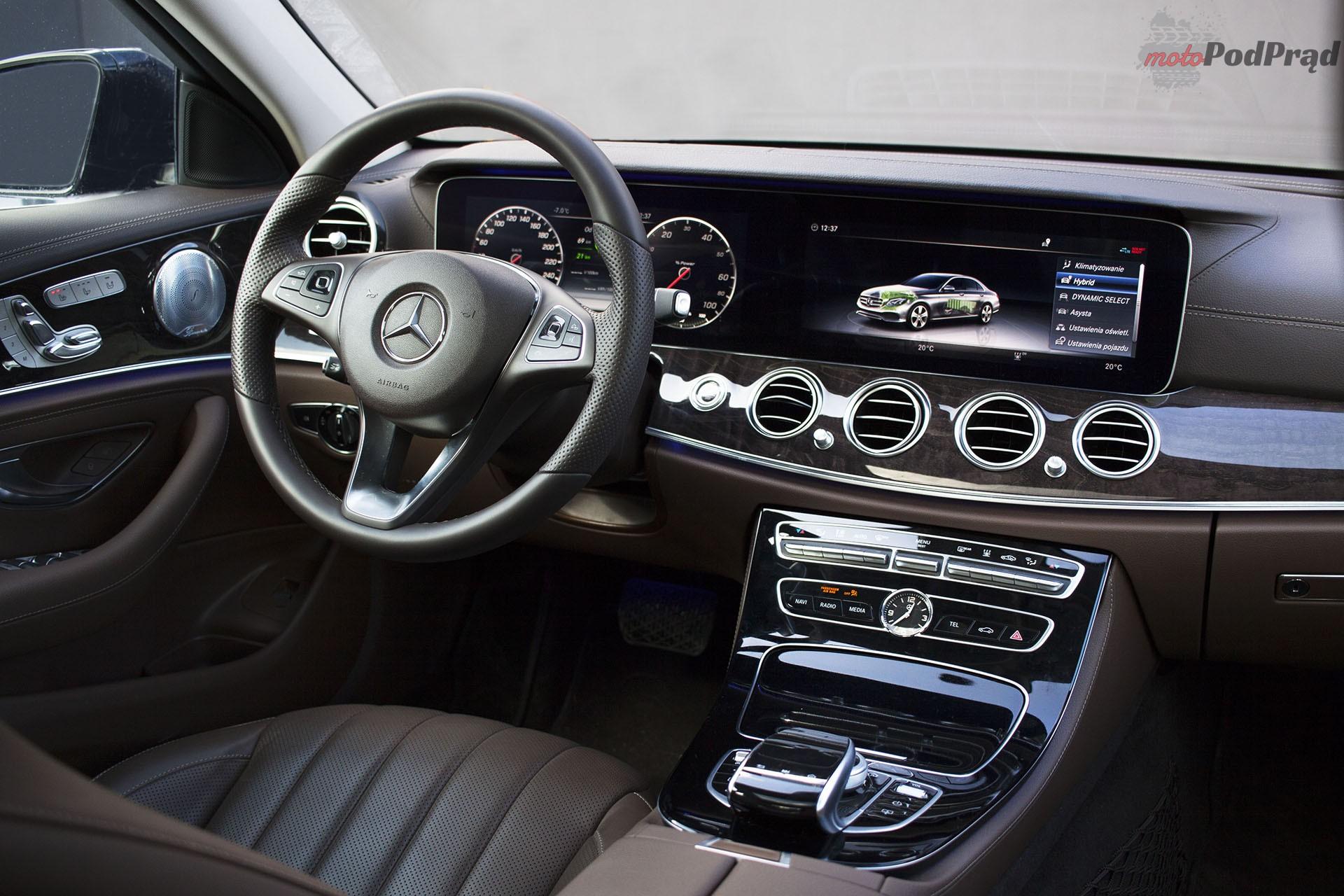 16 Test: Mercedes Benz E350e – hybrydowa wariacja prezesa
