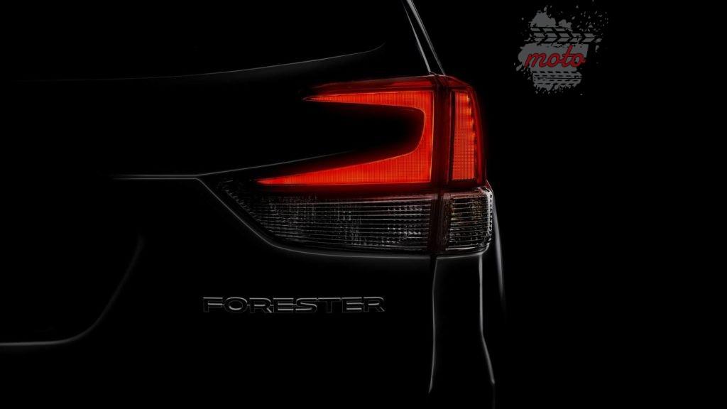 2019 subaru forester teaser 1024x576 Newsy, teasery i zapowiedzi: Toyota RAV4 i Subaru Forester