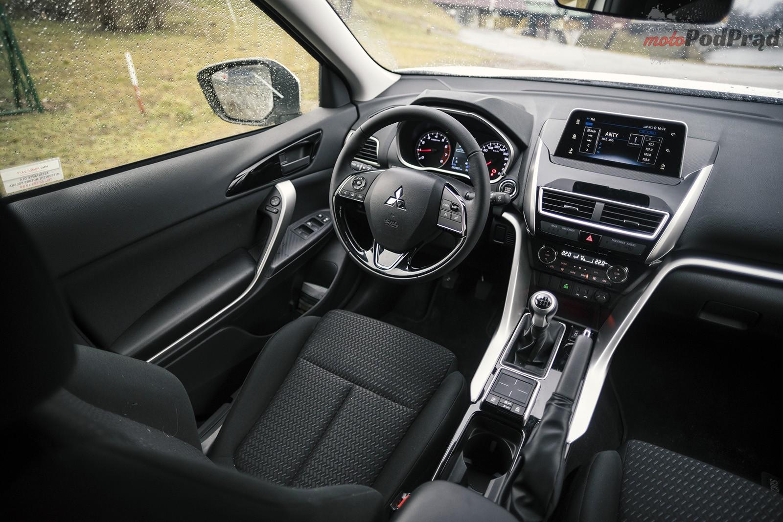 Mitsubishi Eclipse Cross 15 Test: Mitsubishi Eclipse Cross 1.5T 163 KM   zmiana przez modę