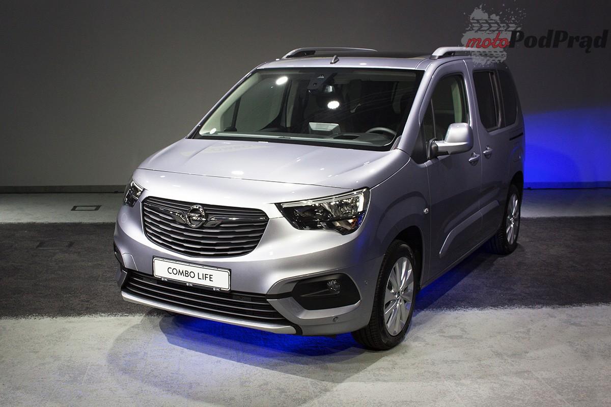 Opel Combo 4 Oglądaliśmy nowego Opla Combo Life z bliska