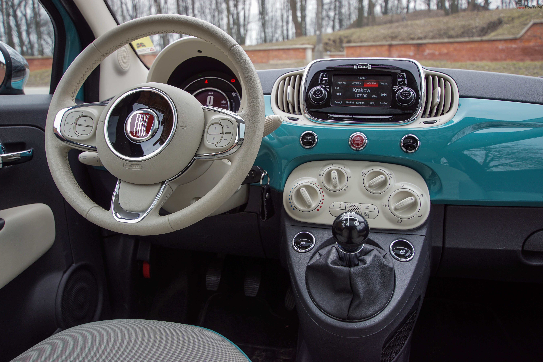 Fiat 500 Anniversario 9 Test: Fiat 500 Anniversario   gustowny dodatek