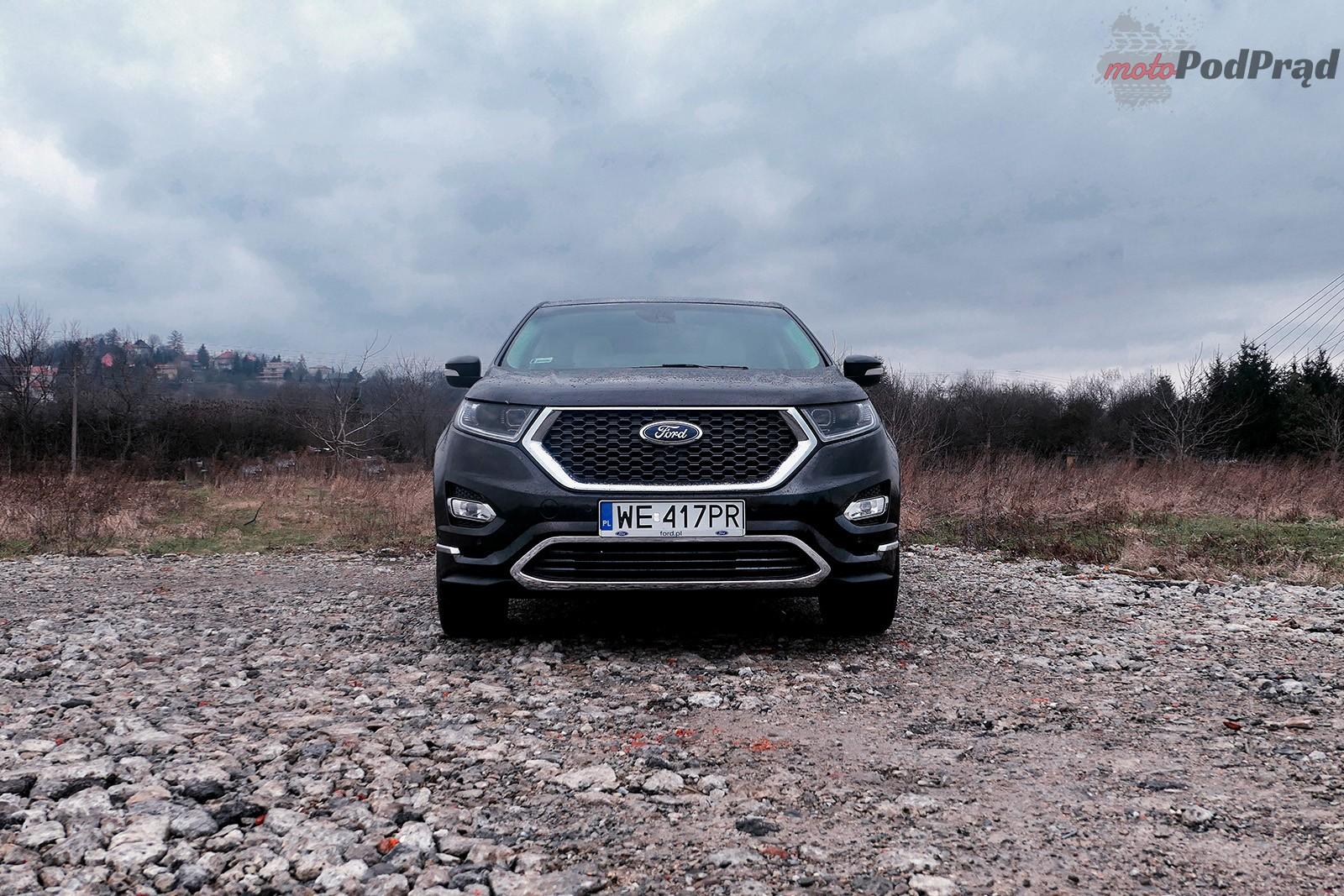 Ford Edge 22 Test: Ford Edge Vignale 2.0 TDCi   potęguje zadowolenie właściciela