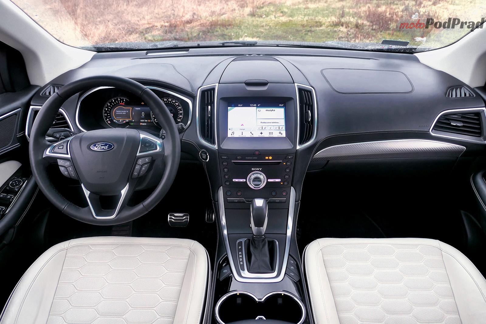 Ford Edge 32 Test: Ford Edge Vignale 2.0 TDCi   potęguje zadowolenie właściciela