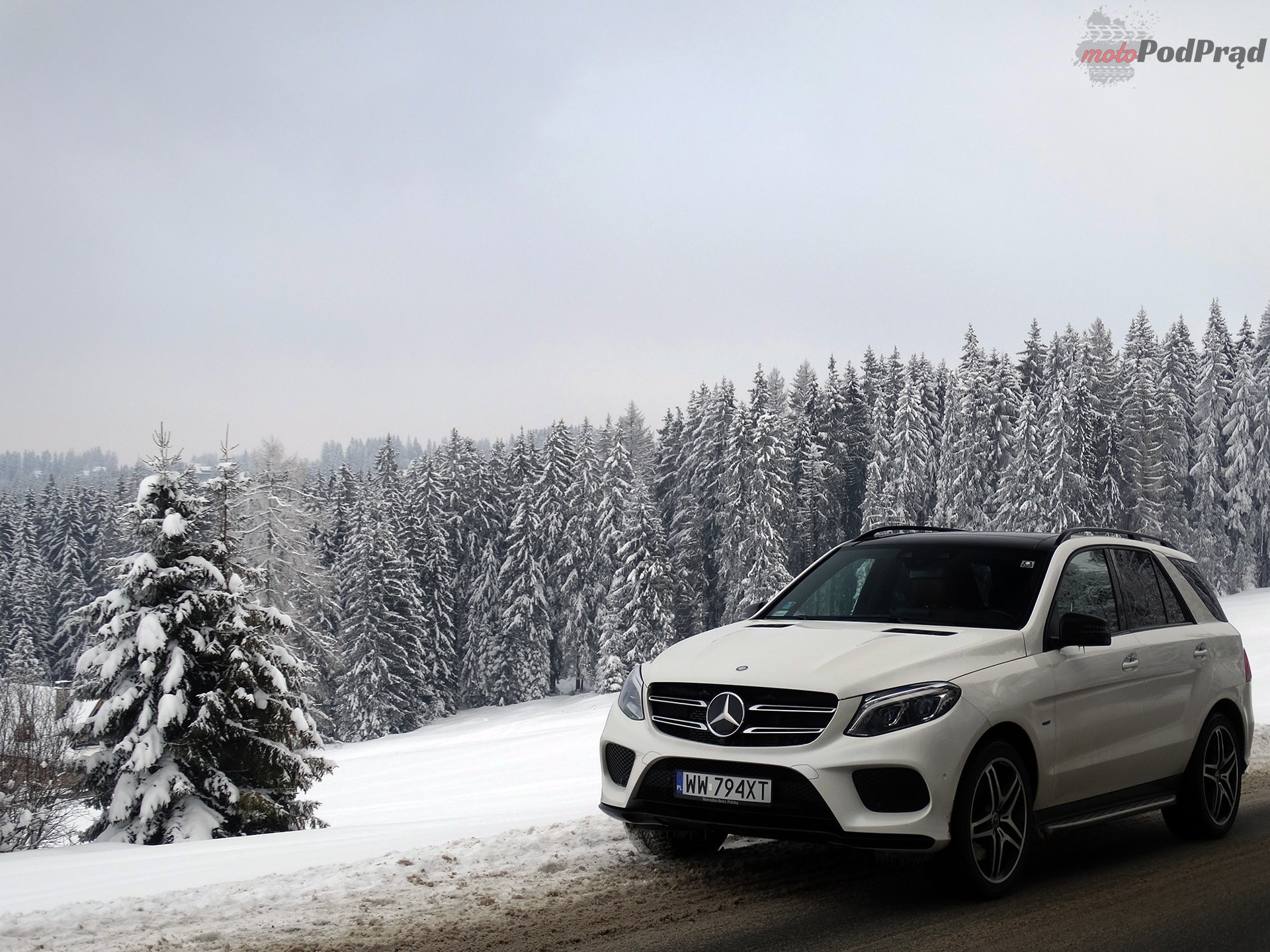 Mercedes GLE 500e 2 Test: Mercedes GLE 500e   czy ma to sens?