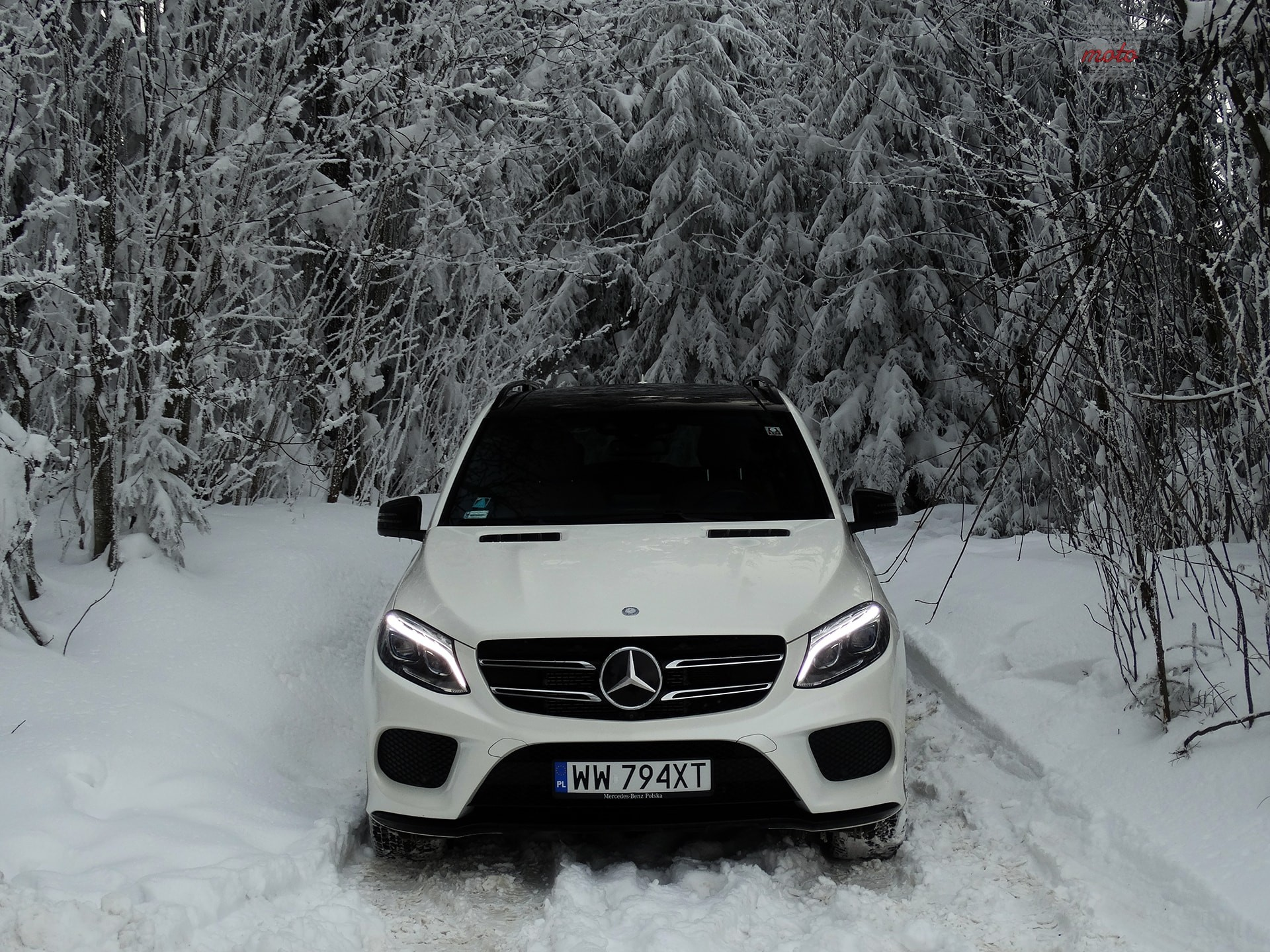 Mercedes GLE 500e 7 Test: Mercedes GLE 500e   czy ma to sens?