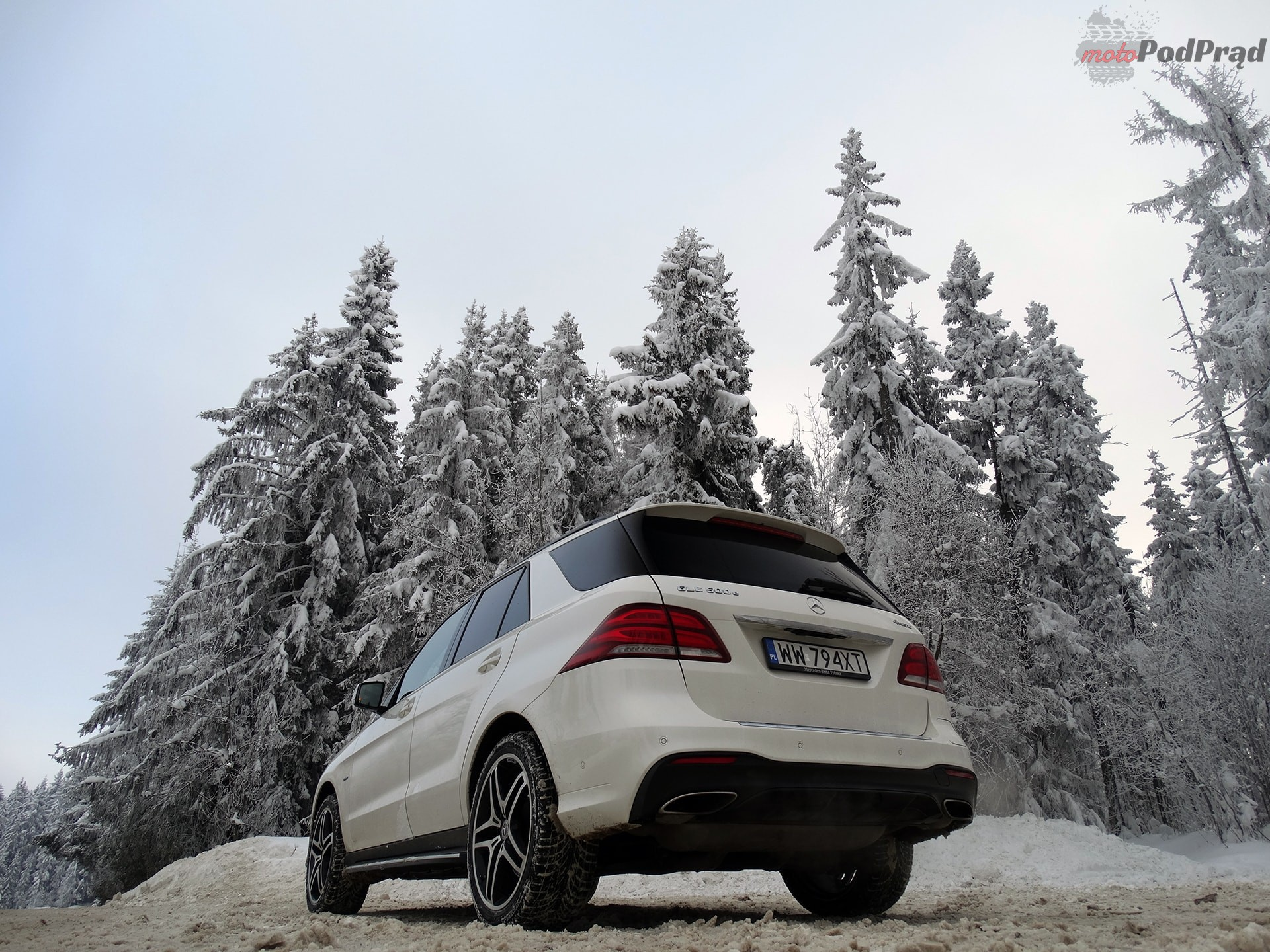 Mercedes GLE 500e 8 Test: Mercedes GLE 500e   czy ma to sens?