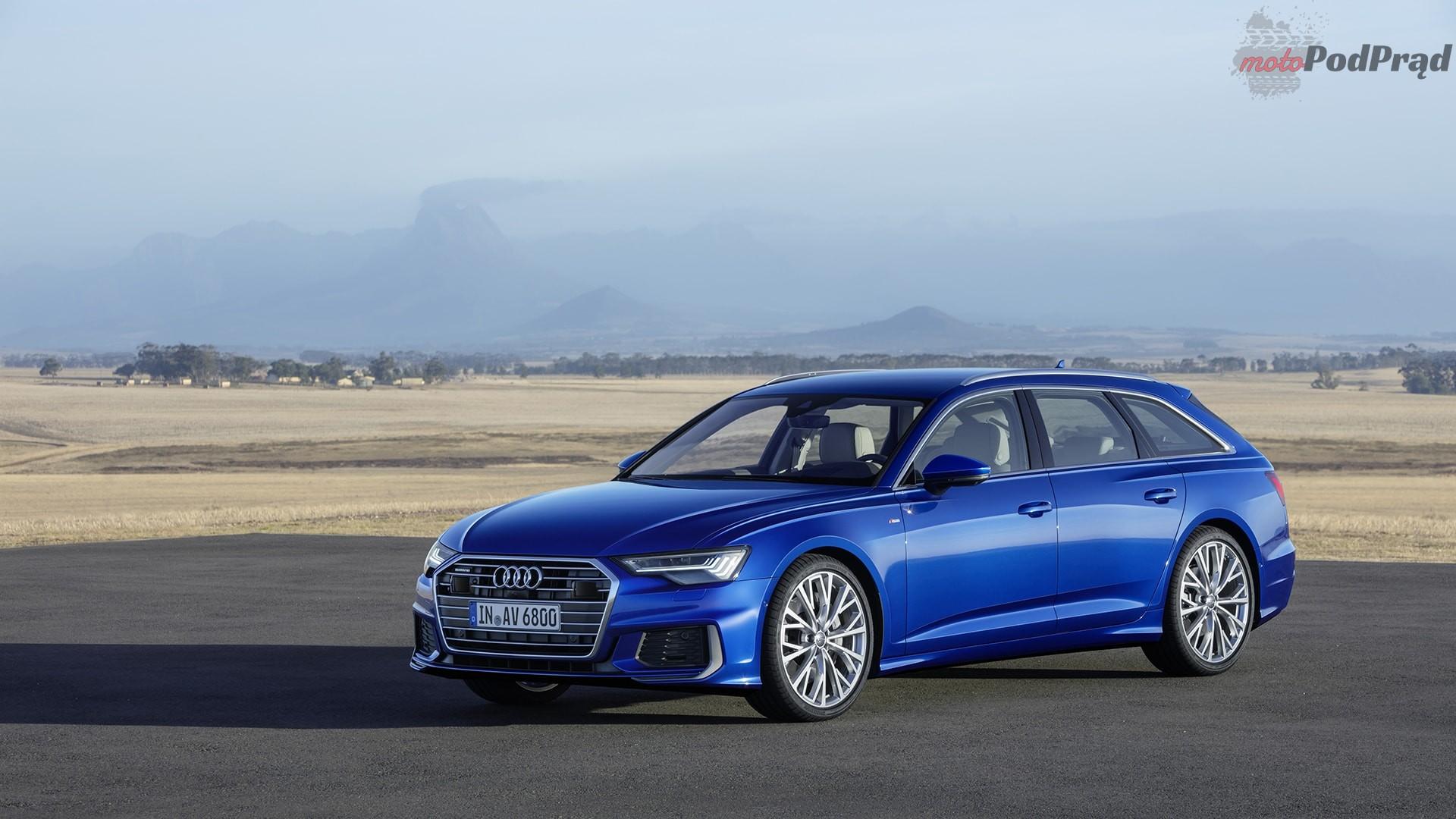 audi a6 avant 2019 10 Audi prezentuje nowe A6 Avant