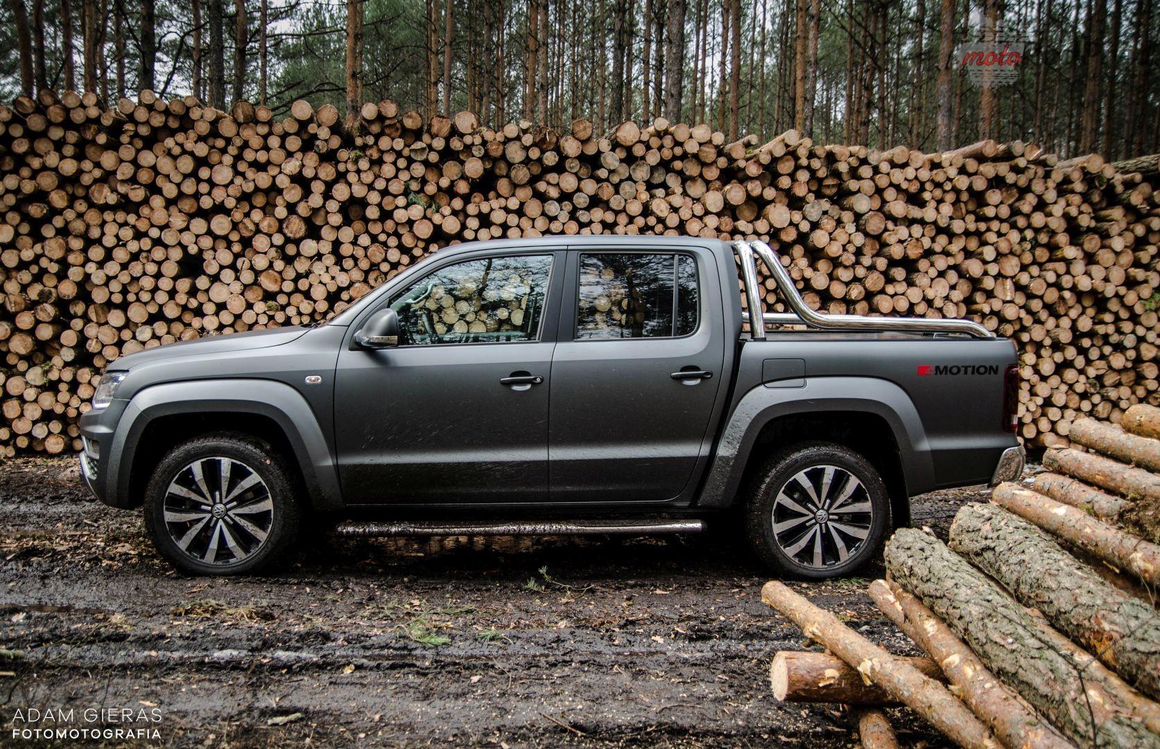 vw amarok 36 Test: Volkswagen Amarok 3.0 V6 TDI Aventura – pakt z wilkami