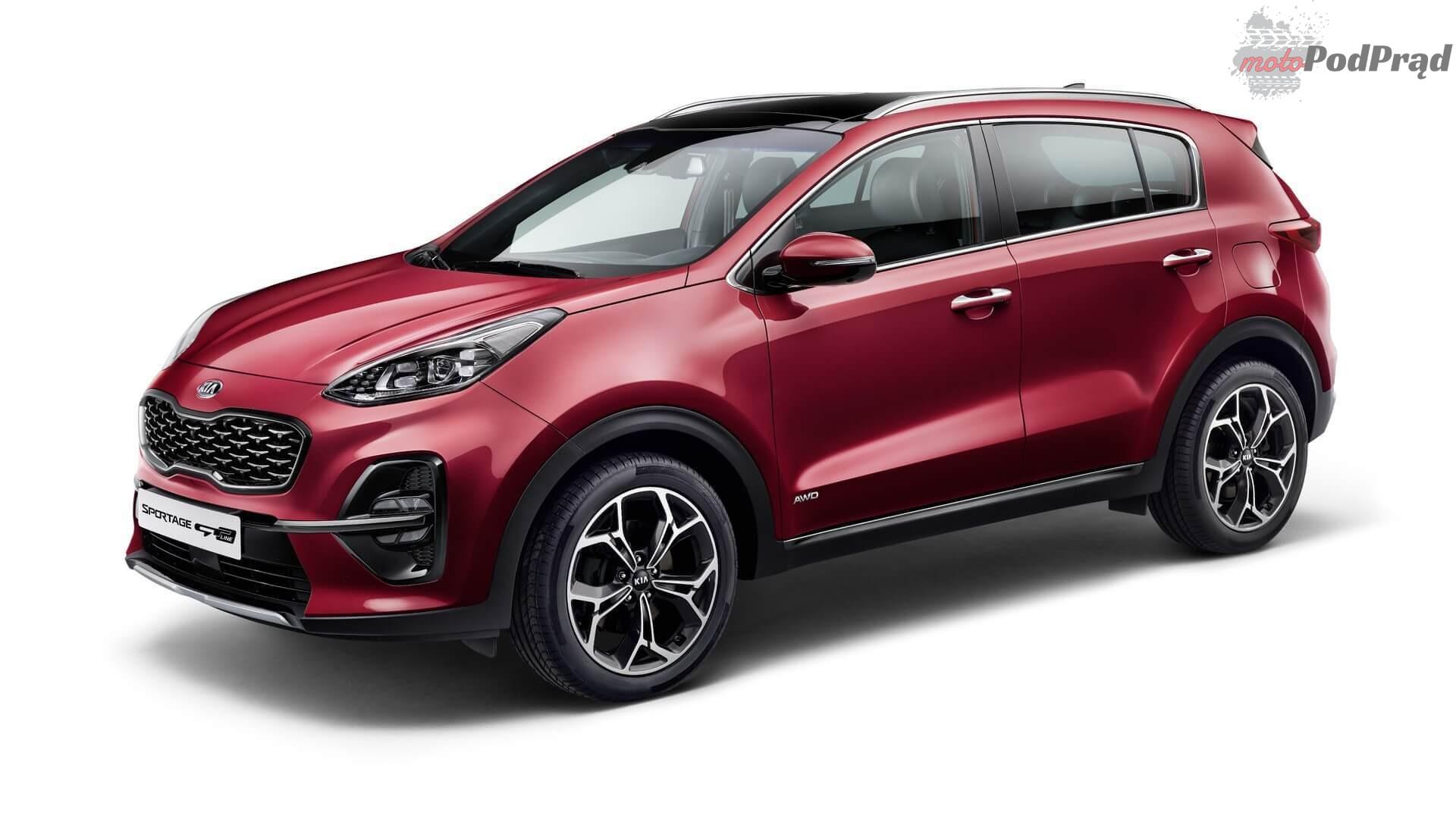 2019 kia sportage facelifting 01 Najlepiej sprzedające się SUV y w Polsce