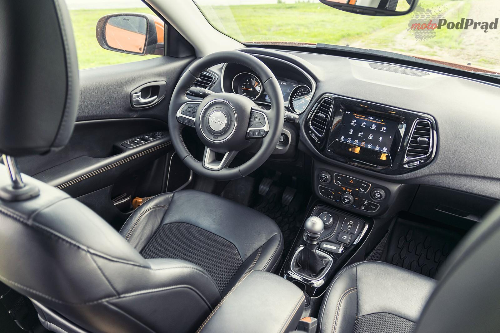 Jeep Compass 28 Test: Jeep Compass 2.0 140 KM   kierunek Europa