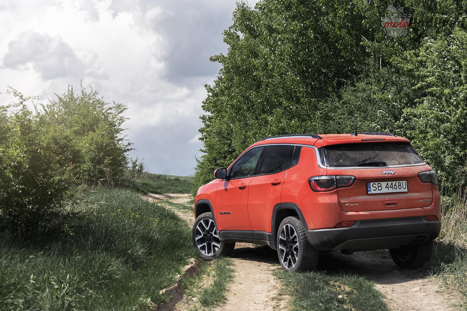 Jeep Compass 31 Test: Jeep Compass 2.0 140 KM   kierunek Europa