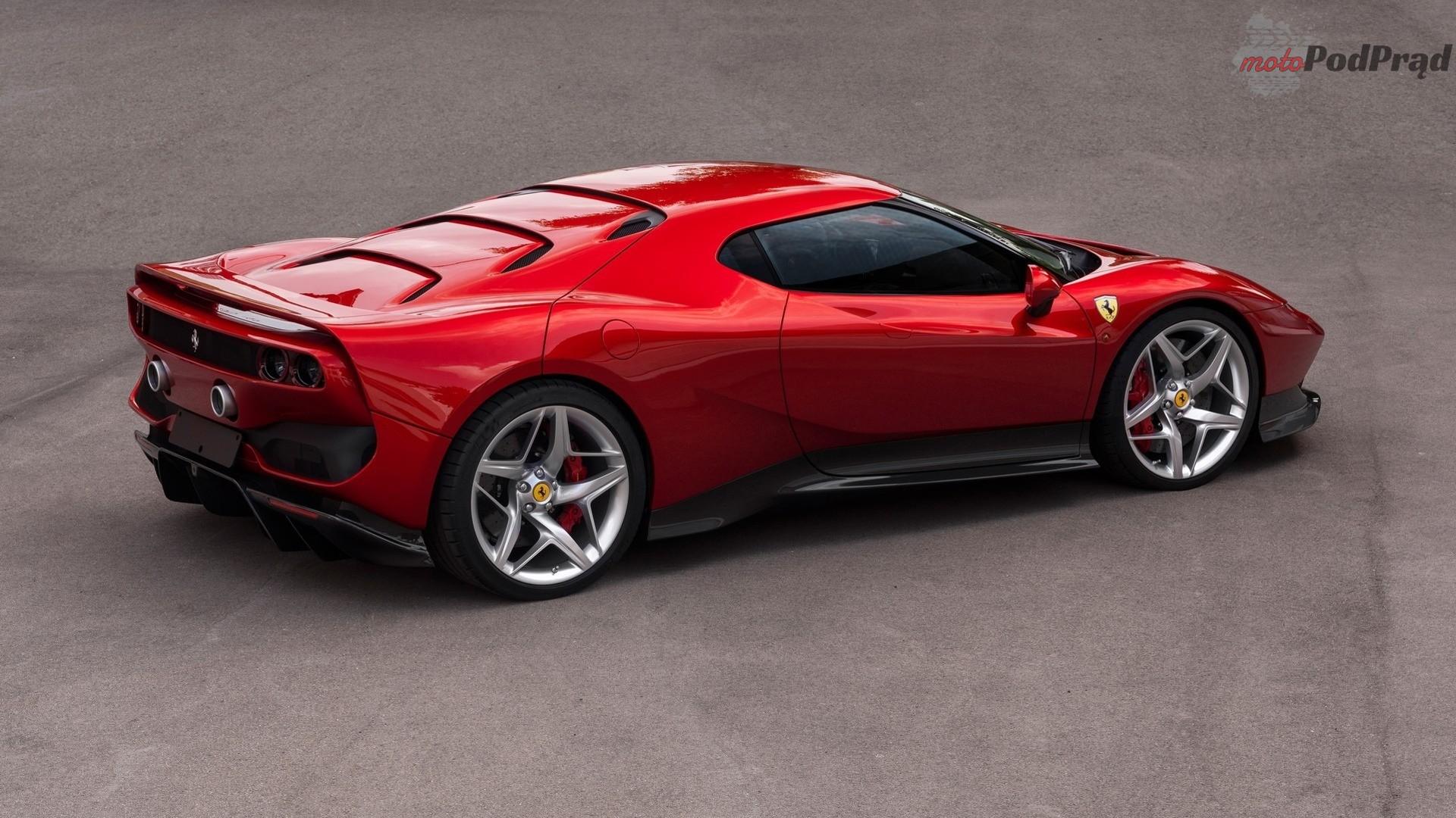 ferrari sp38 2 Ferrari SP38 w hołdzie F40