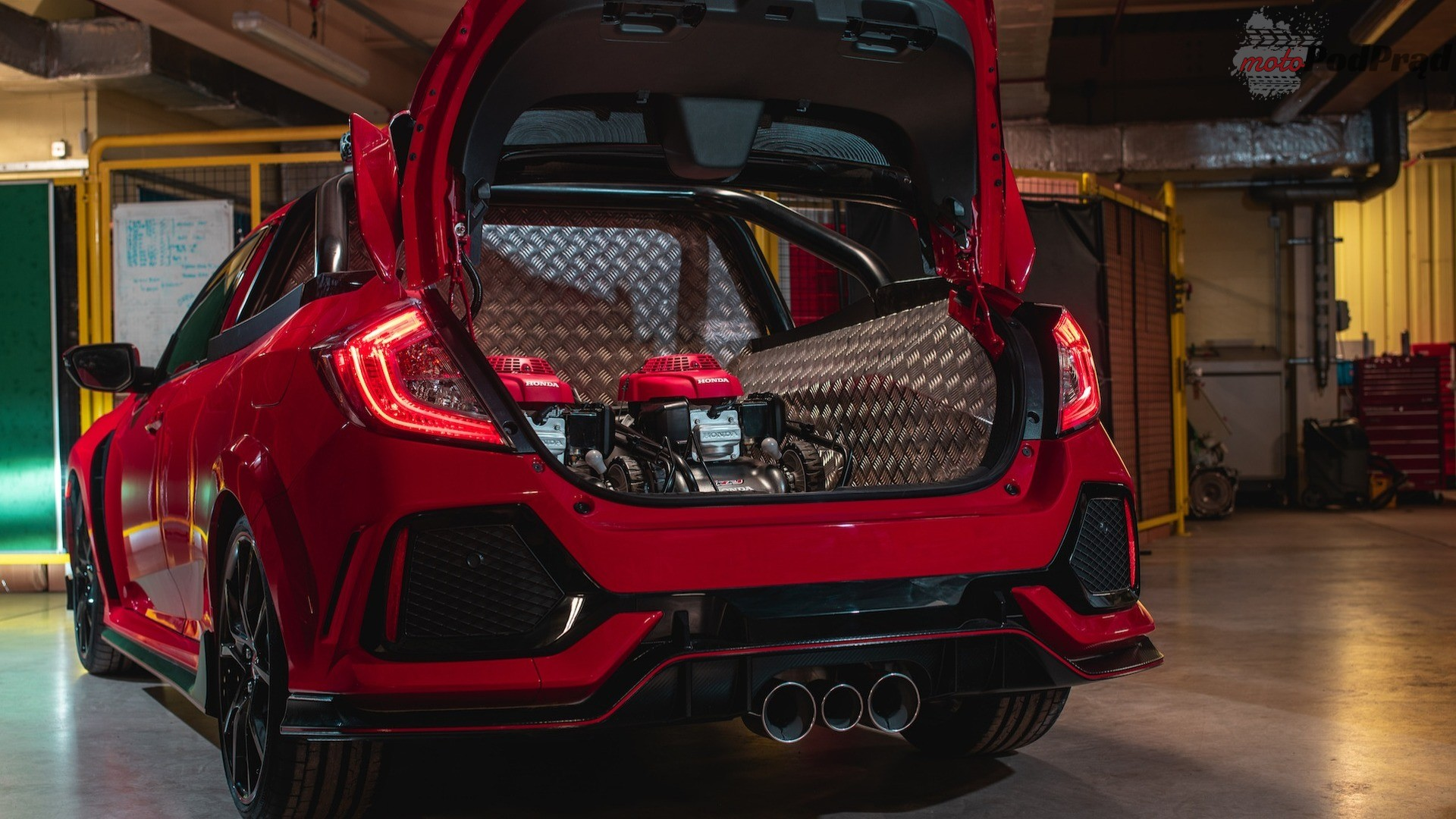 honda civic type r pick up 2 Zrobili z Hondy Civic Type R pickupa