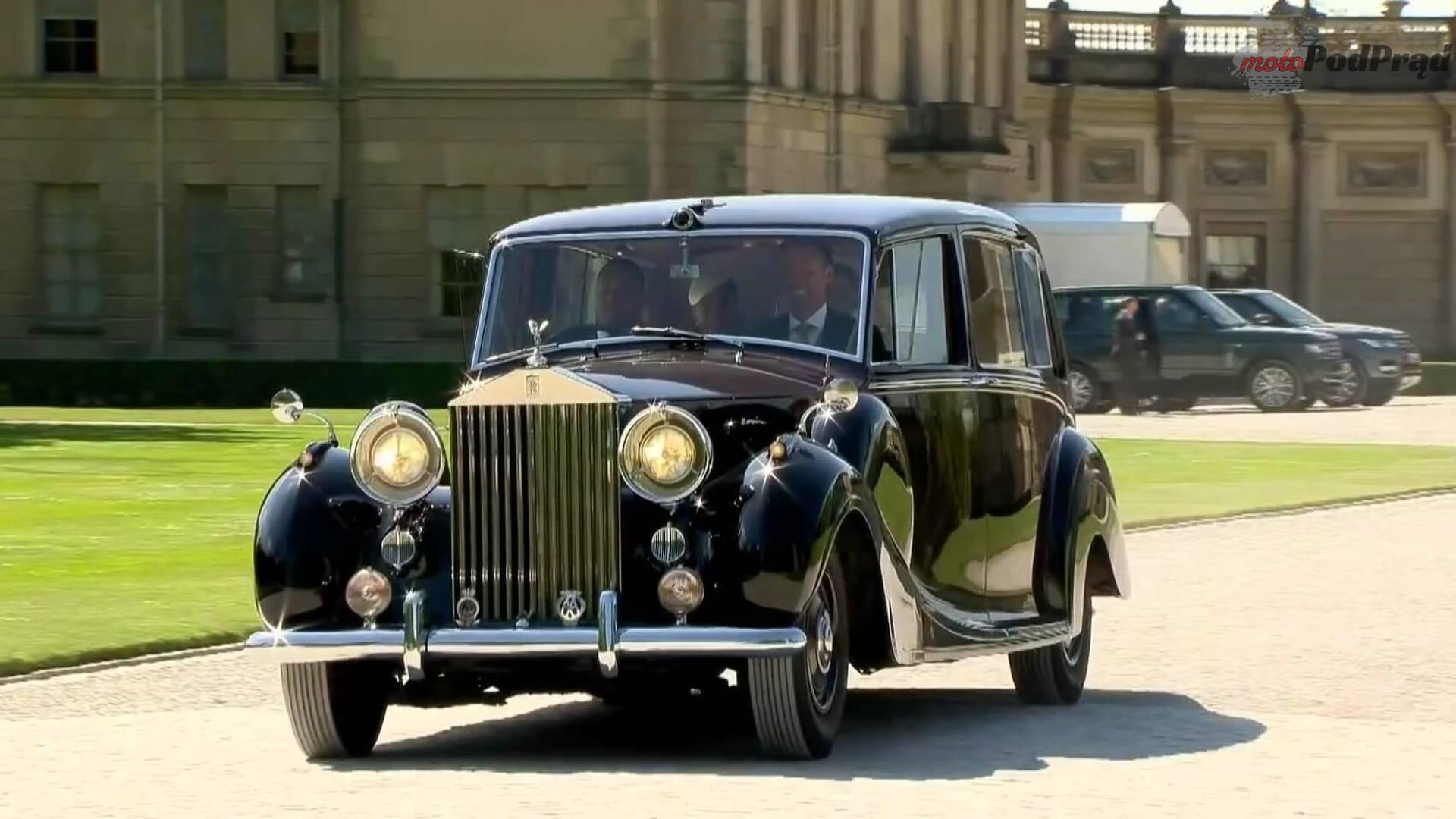the queens rolls royce phantom iv Królewski ślub od strony motoryzacyjnej