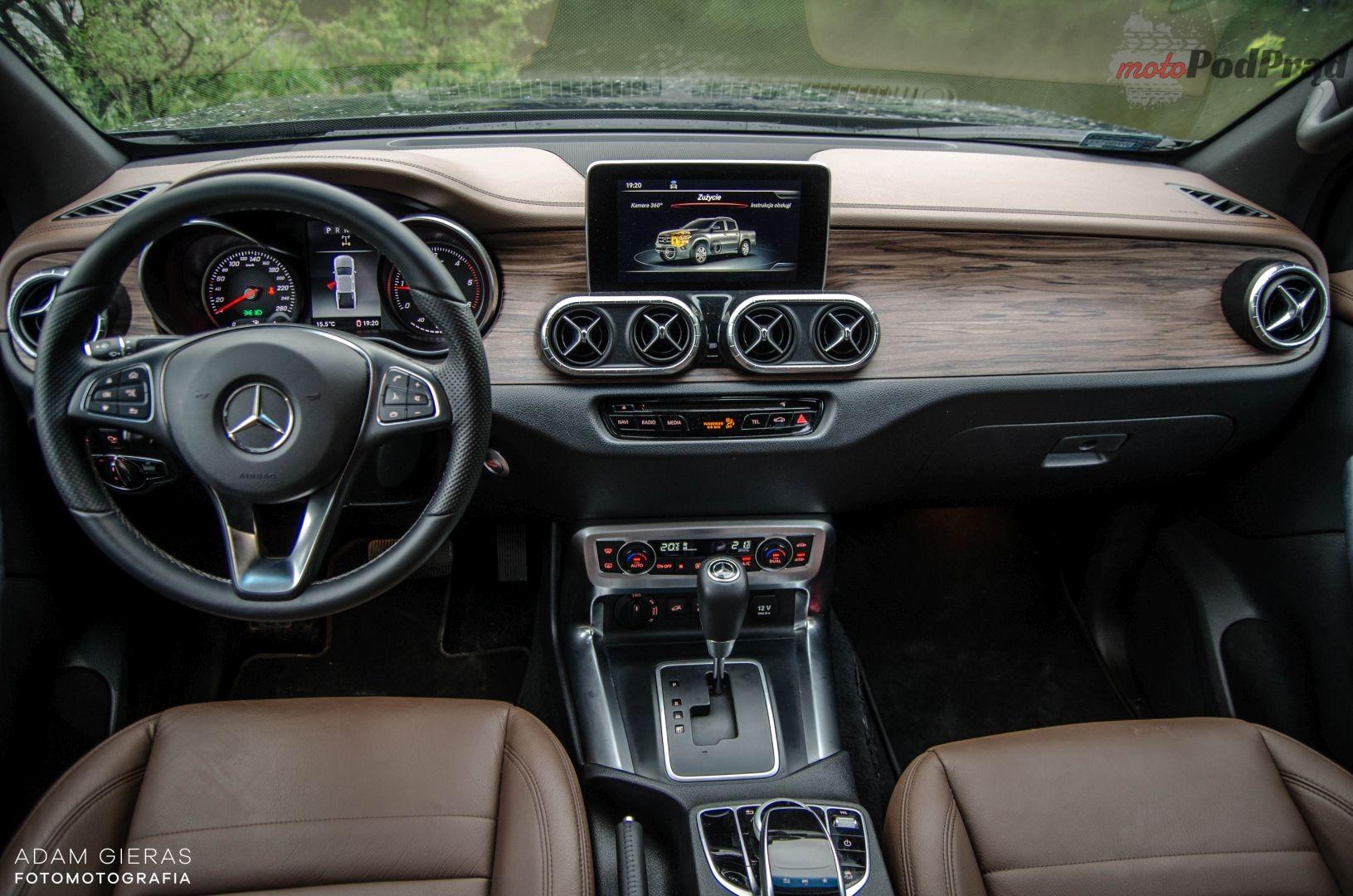 x klasa 29 Test: Mercedes X250d – zawartość cukru w cukrze
