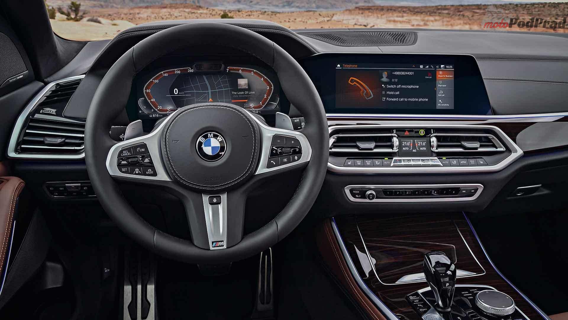 2019 bmw x5 Nowe BMW X5   napakowane technologią