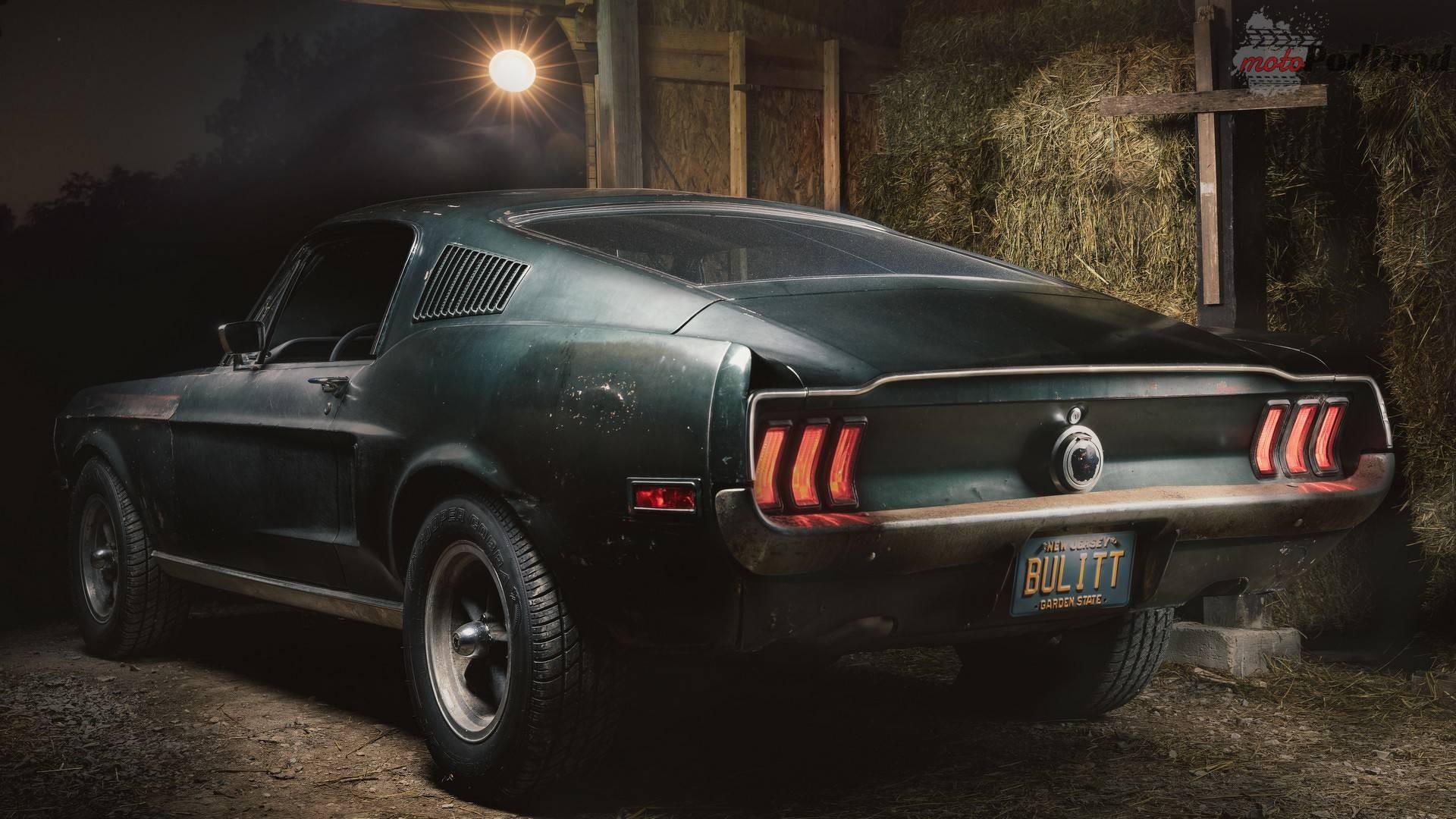 1968 ford mustang bullitt original movie car Goodwood Festival of Speed   spodziewane premiery