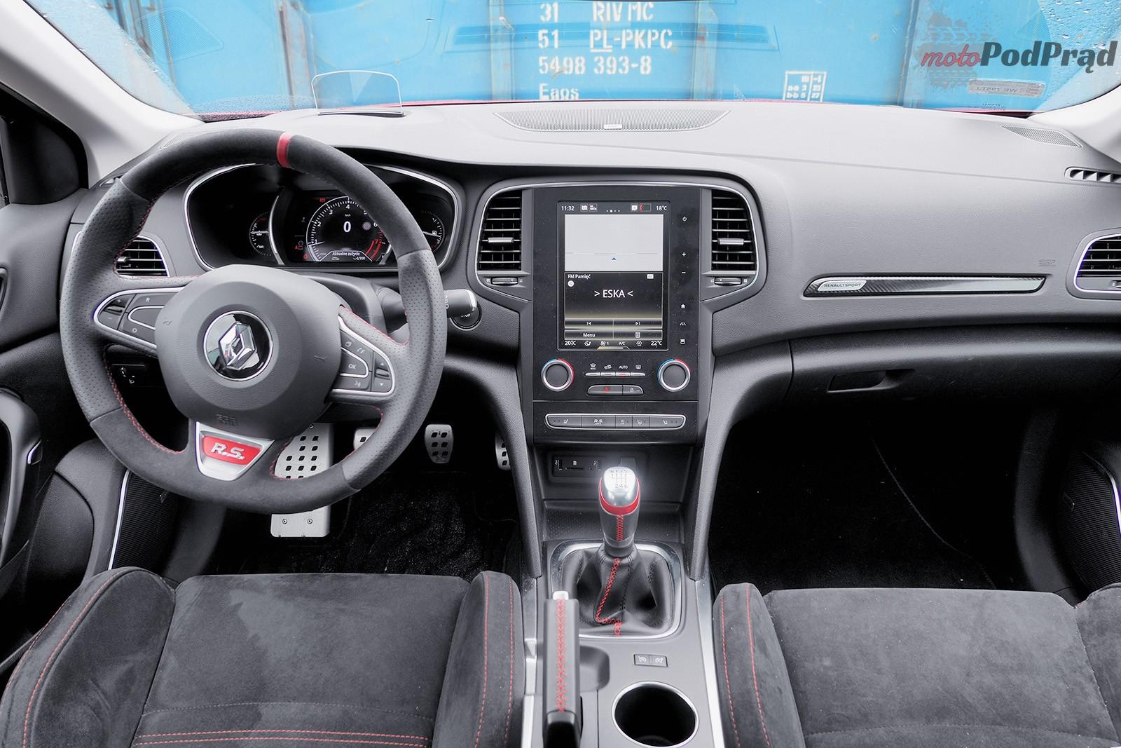 Renault Megane RS 34 Test: Renault Megane RS 280 KM   pozostał lekki niedosyt