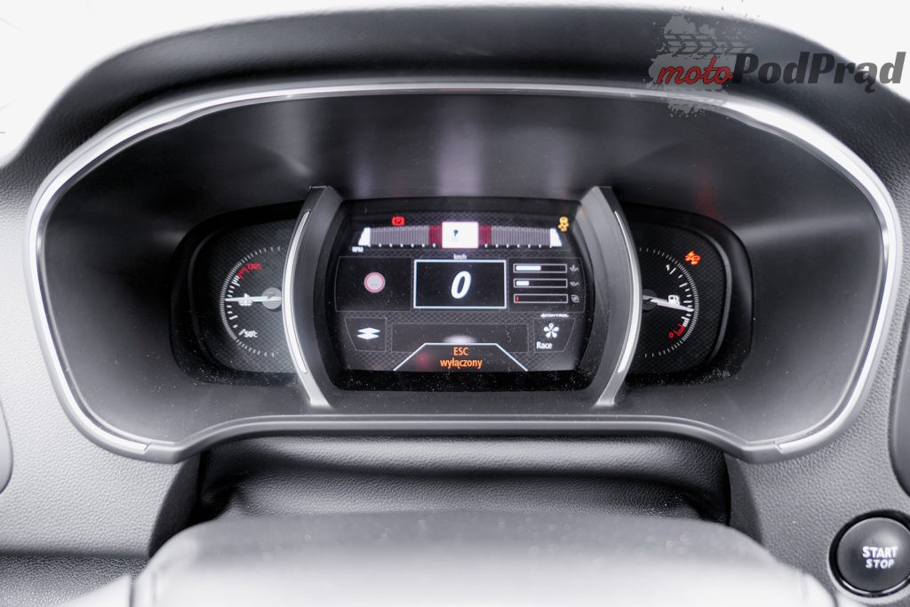 Renault Megane RS 43 1024x683 Test: Renault Megane RS Trophy   żółty i gorący