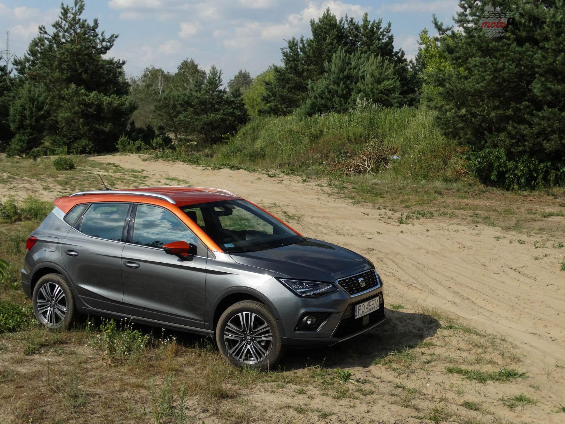 Seat Arona 7 Porównanie: Hyundai Kona 1.0 kontra Seat Arona 1.0