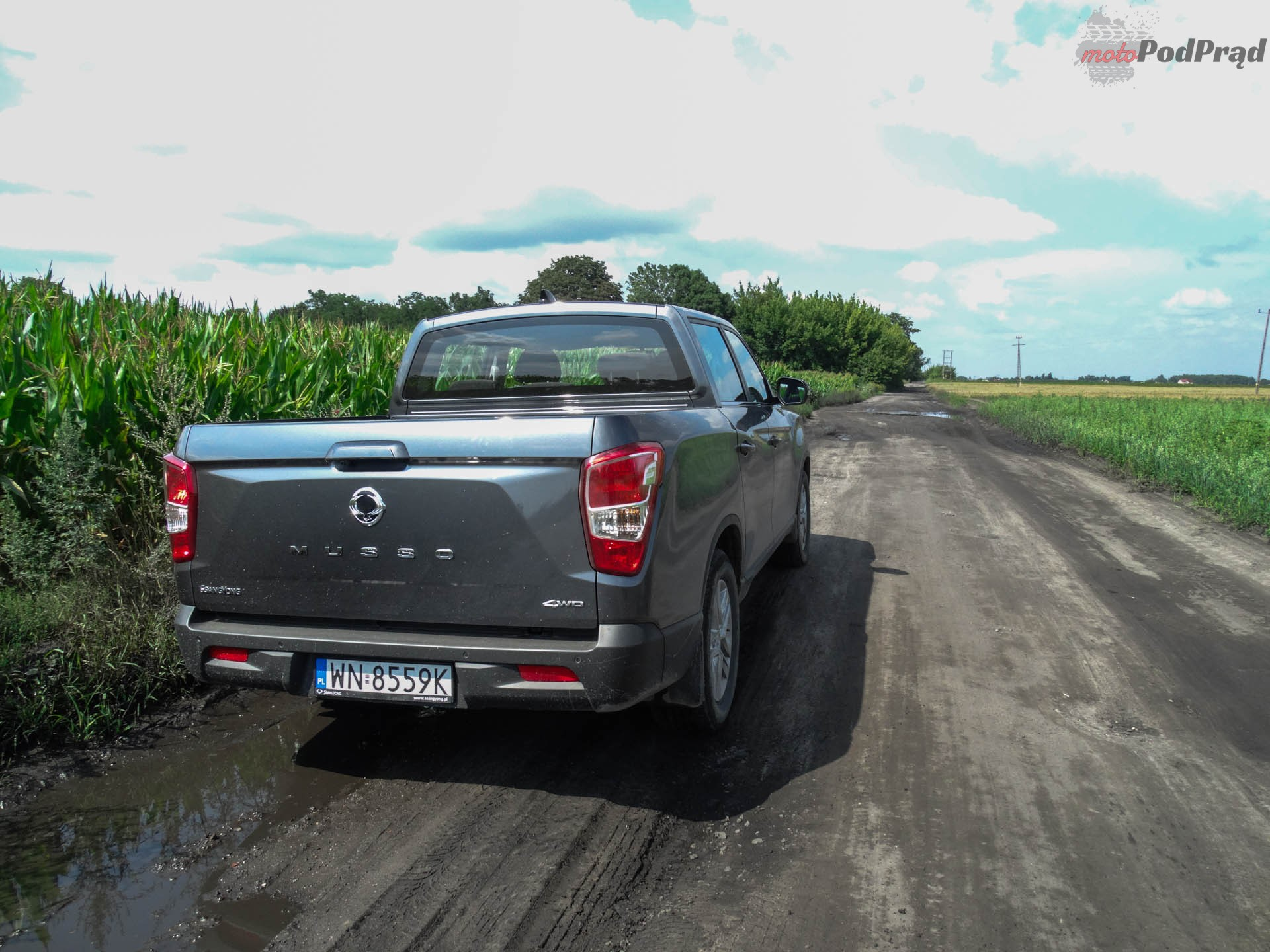 SsangYong Musso 4 Nowy SsangYong Musso. Auto fajne, ale...