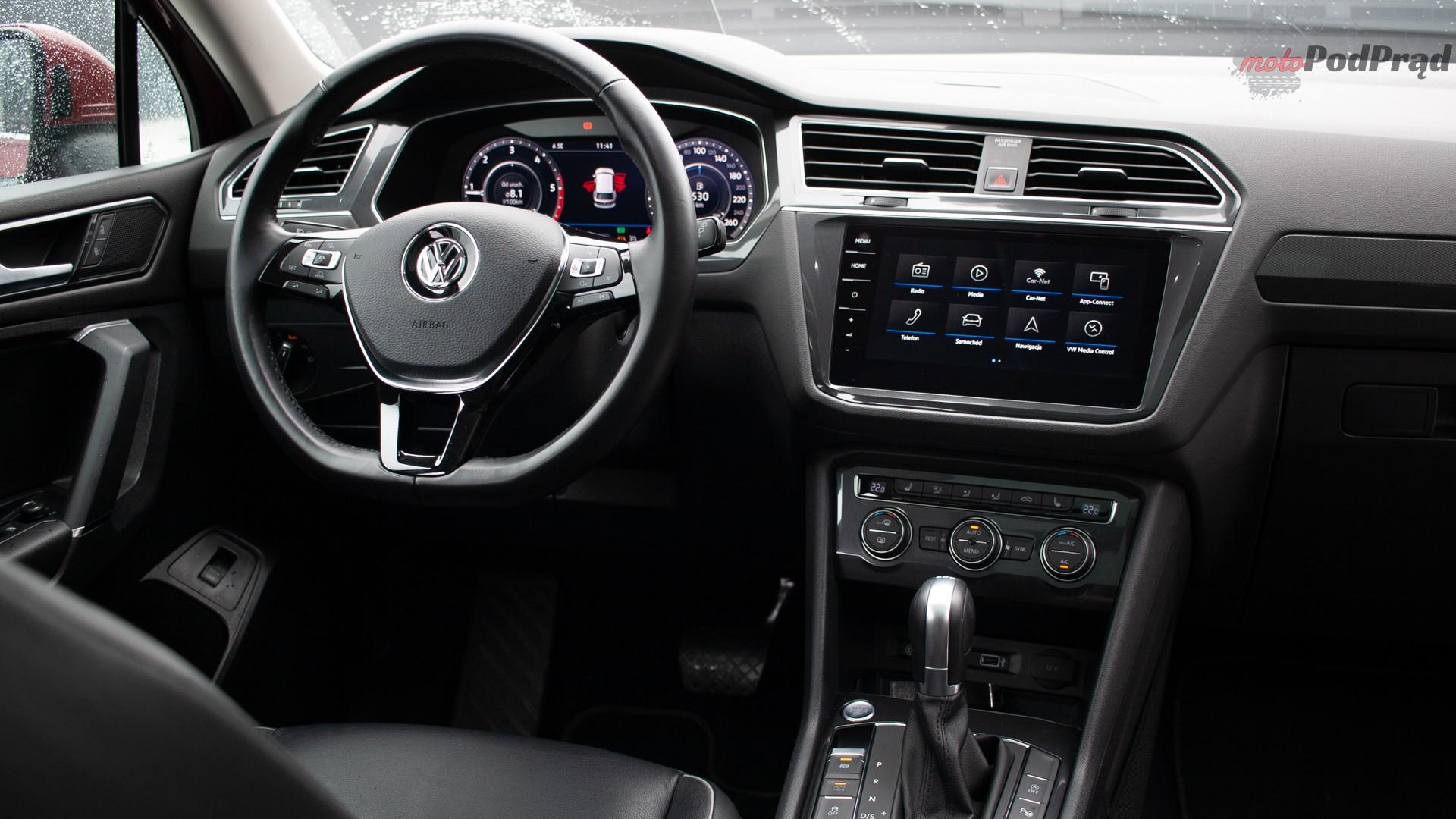 Volkswagen Tiguan Allspace 25 Test: Volkswagen Tiguan Allspace 2.0 TDI 150   w dużym ciele