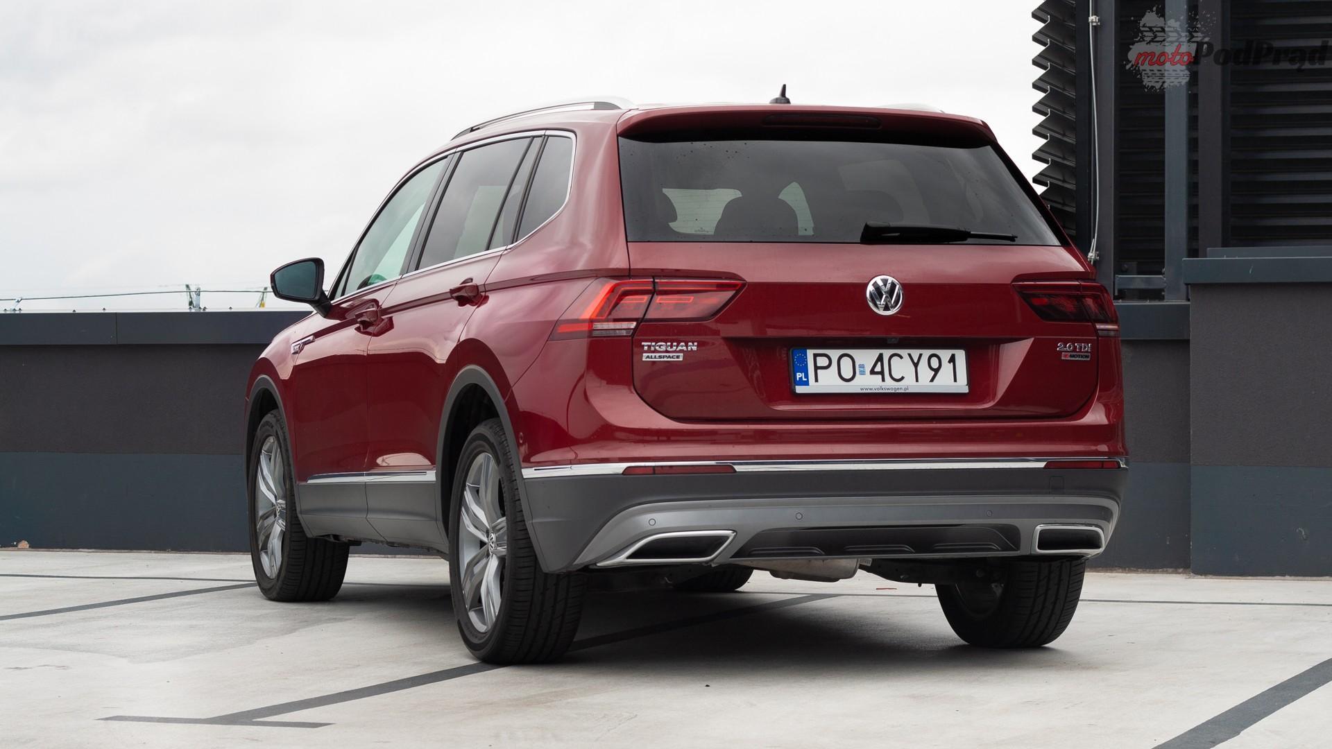 Volkswagen Tiguan Allspace 5 Test: Volkswagen Tiguan Allspace 2.0 TDI 150   w dużym ciele