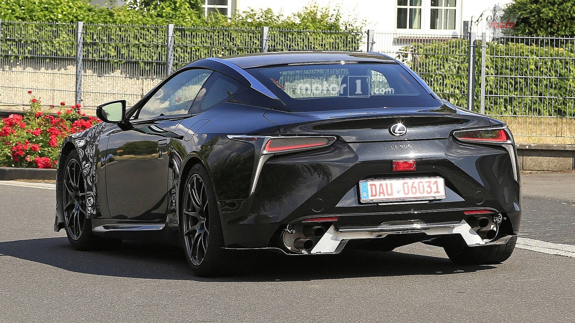 lexus lc f spy photo 1 Lexus LC F dostanie turbinę? A może hybryda?