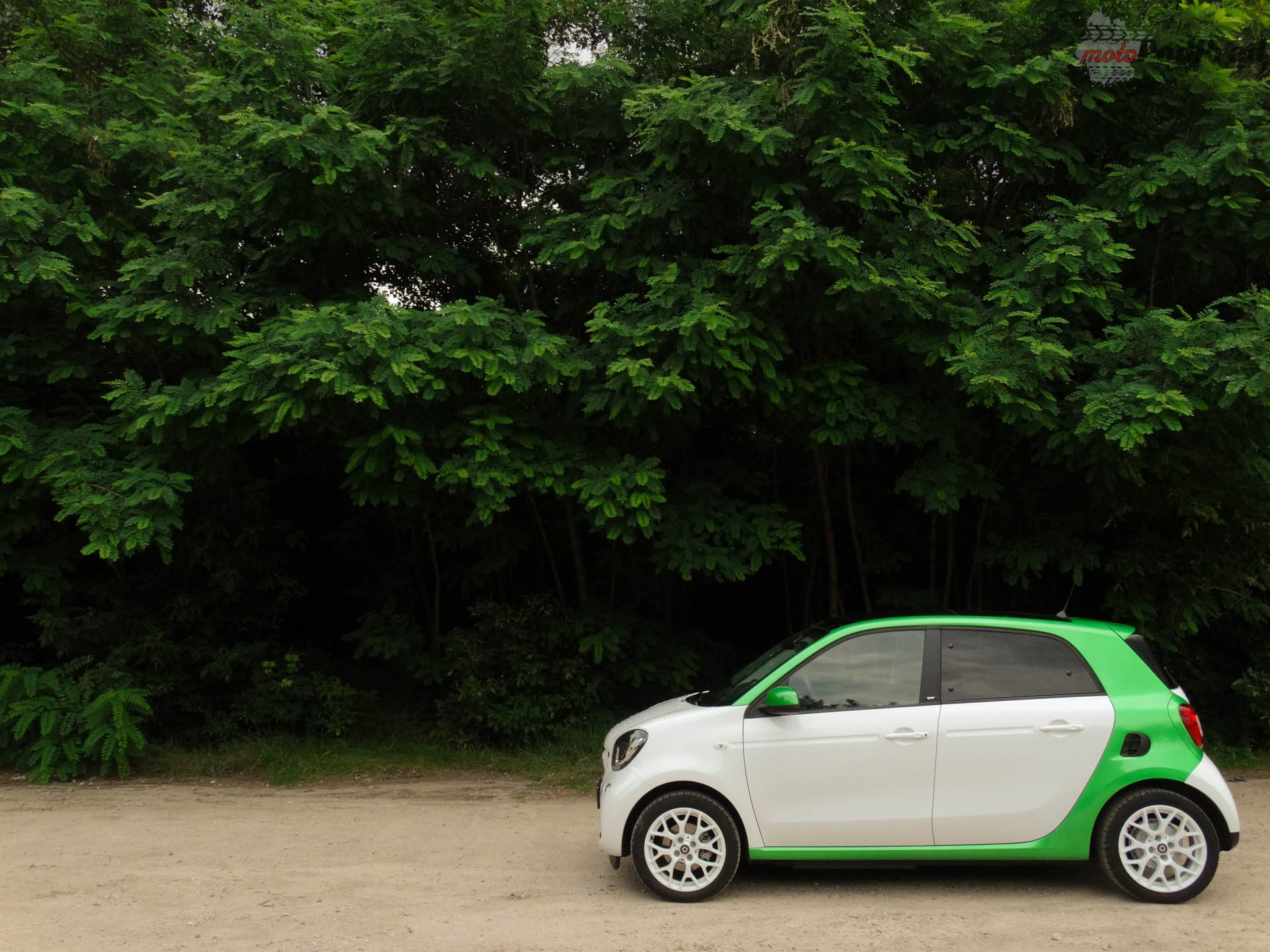 smart EQ forfour 1 Test: Smart EQ Forfour, czy naprawdę taki smart?