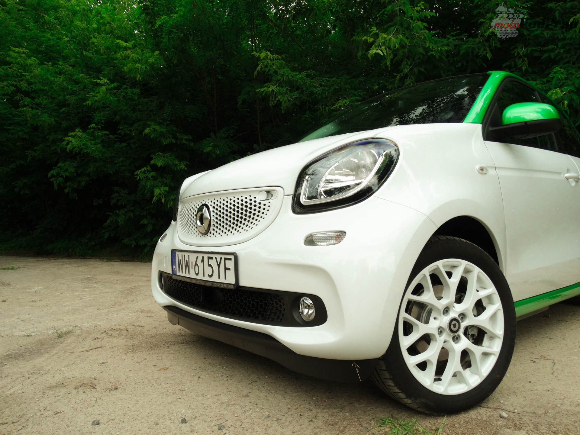 smart EQ forfour 11 Test: Smart EQ Forfour, czy naprawdę taki smart?