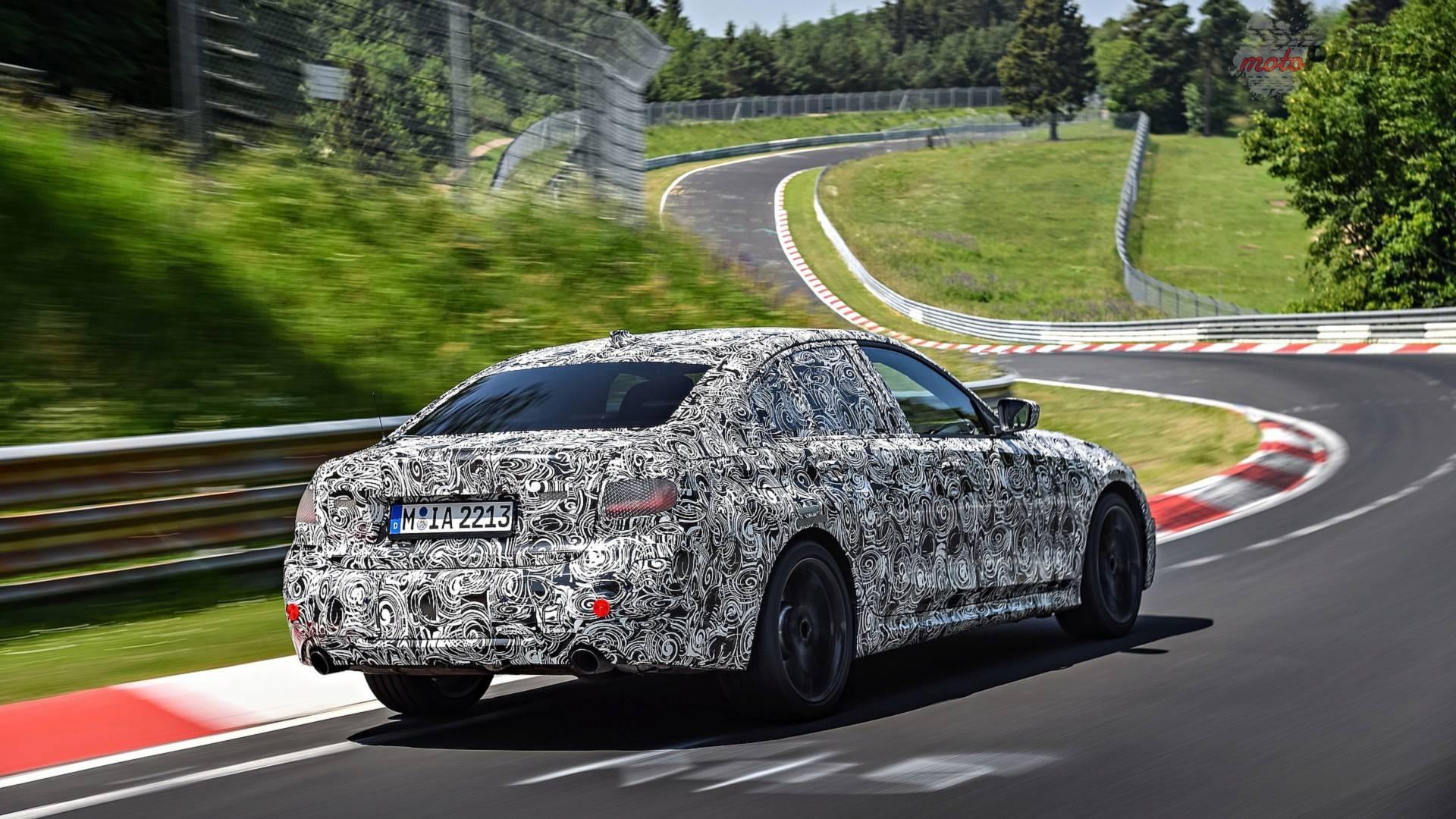 2019 bmw 3 series teaser 1 Nowe BMW serii 3   wszystko co o nim wiemy