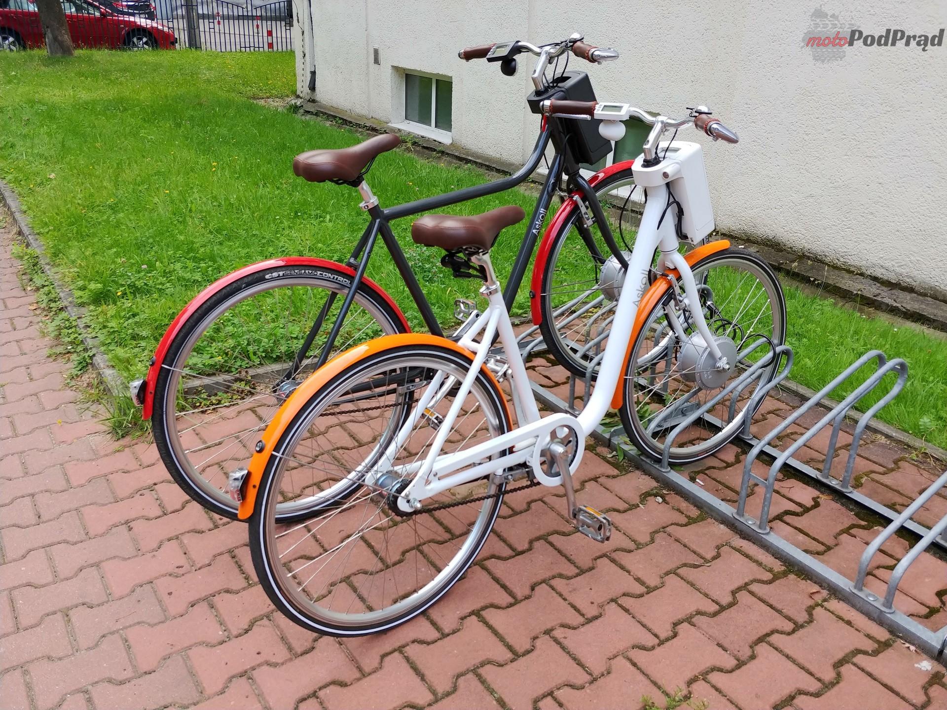 Askoll 13 Niedziela na elektrycznym rowerze   Askoll EB1 i EB2