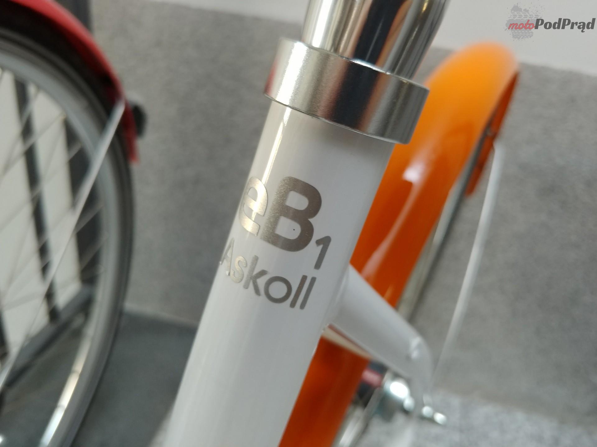 Askoll 14 Niedziela na elektrycznym rowerze   Askoll EB1 i EB2
