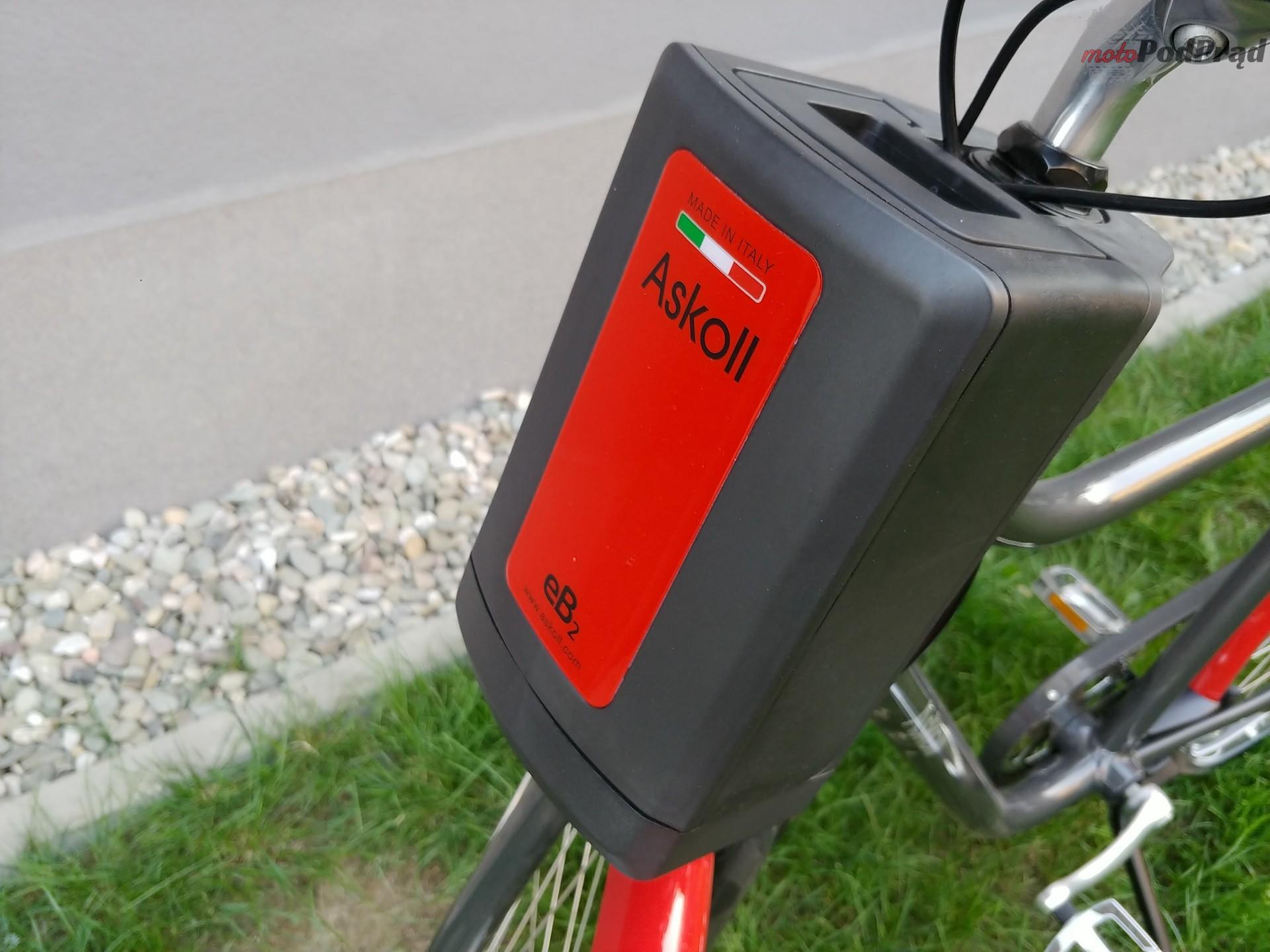 Askoll 20 Niedziela na elektrycznym rowerze   Askoll EB1 i EB2