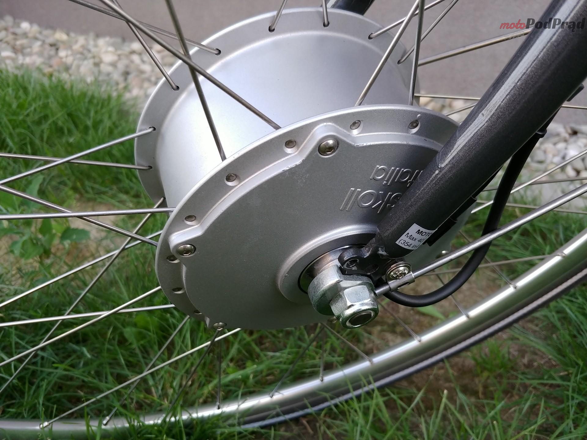 Askoll 22 Niedziela na elektrycznym rowerze   Askoll EB1 i EB2