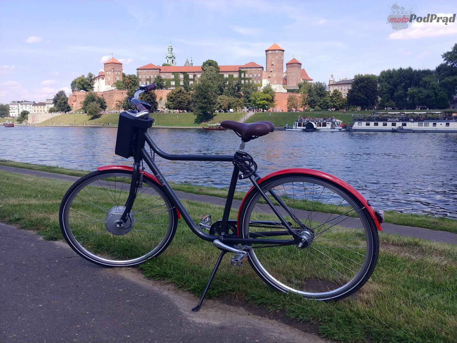 Askoll 5 Niedziela na elektrycznym rowerze   Askoll EB1 i EB2