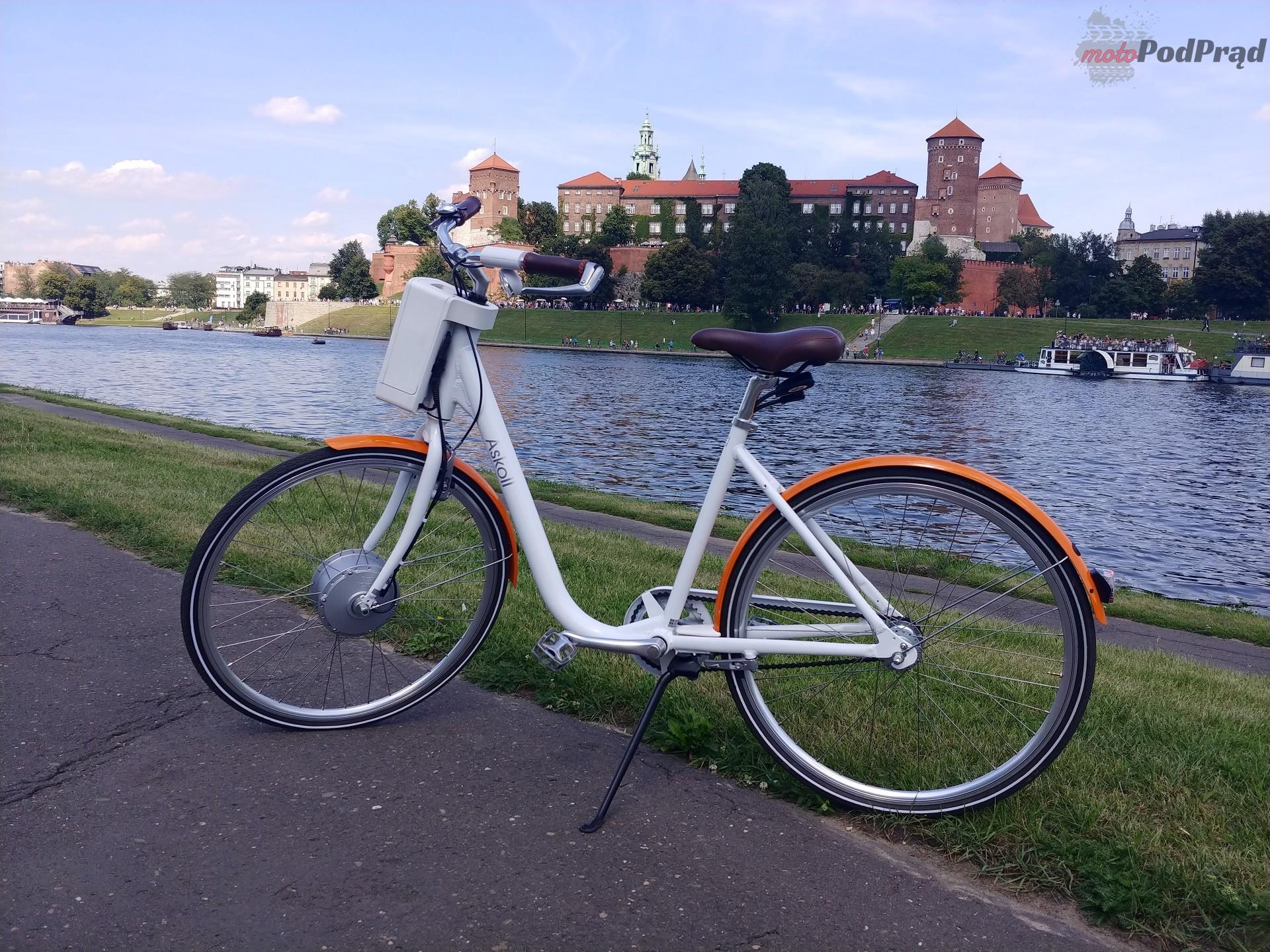Askoll 6 Niedziela na elektrycznym rowerze   Askoll EB1 i EB2