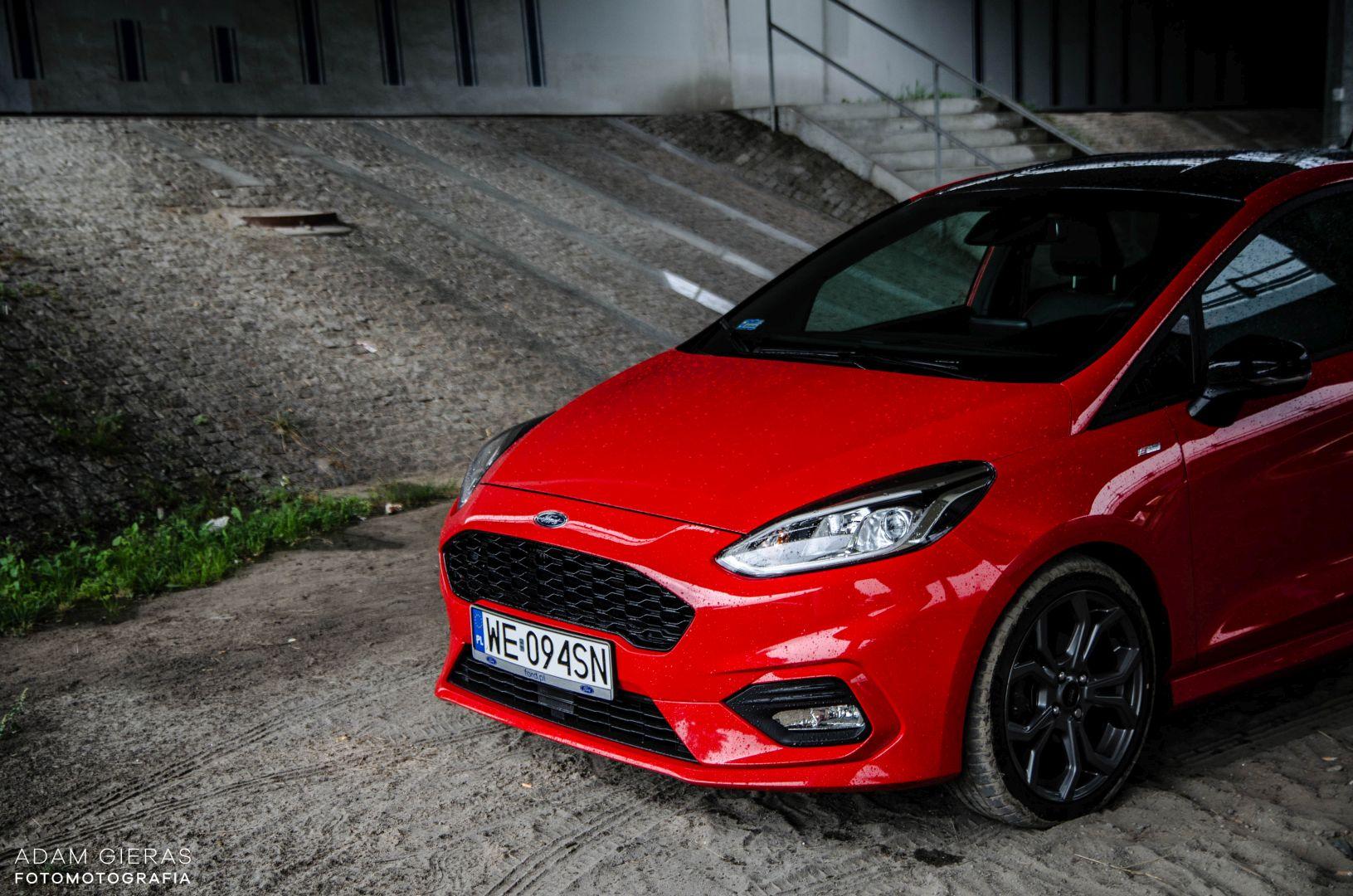 FIESTA ST 11 Test: Ford Fiesta 1.0 Ecoboost ST Line   zwinne cacuszko