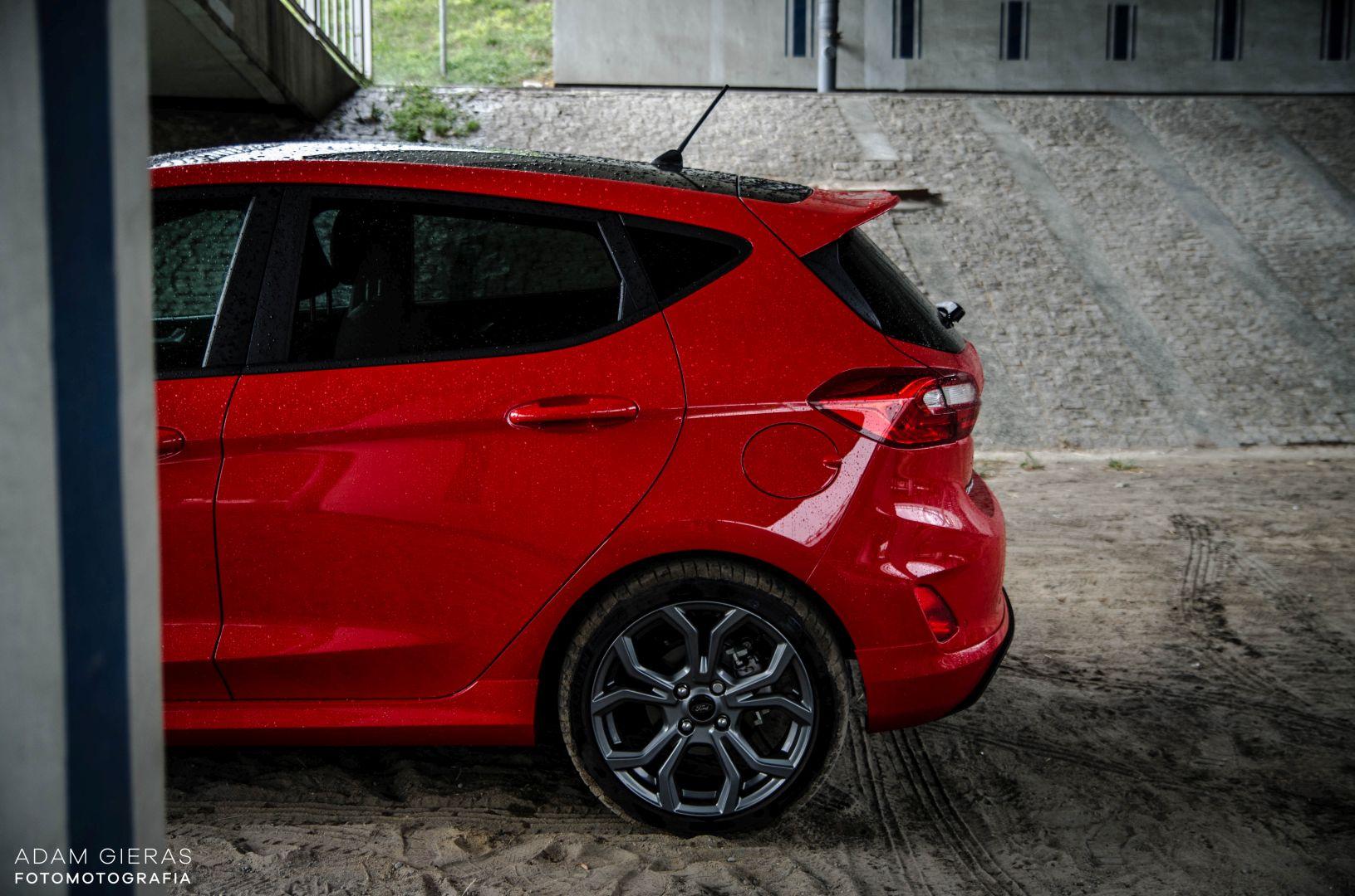 FIESTA ST 12 Test: Ford Fiesta 1.0 Ecoboost ST Line   zwinne cacuszko